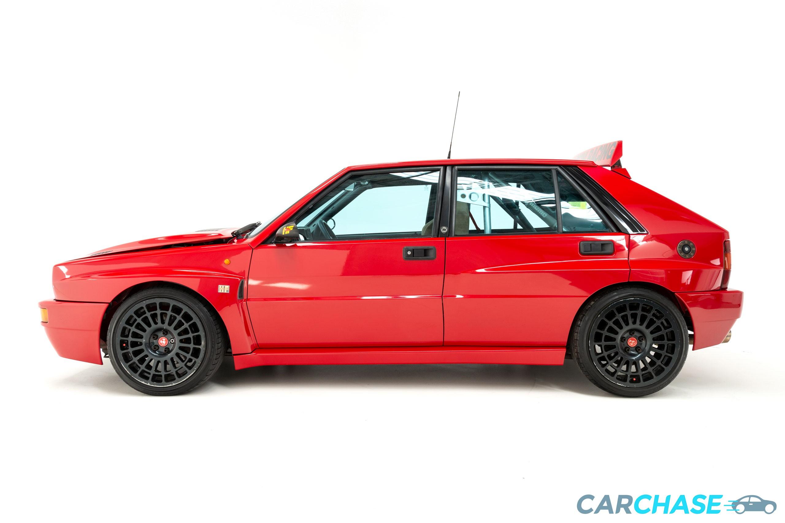 Image of left profile of 1993 Lancia Delta Integrale Evo 2
