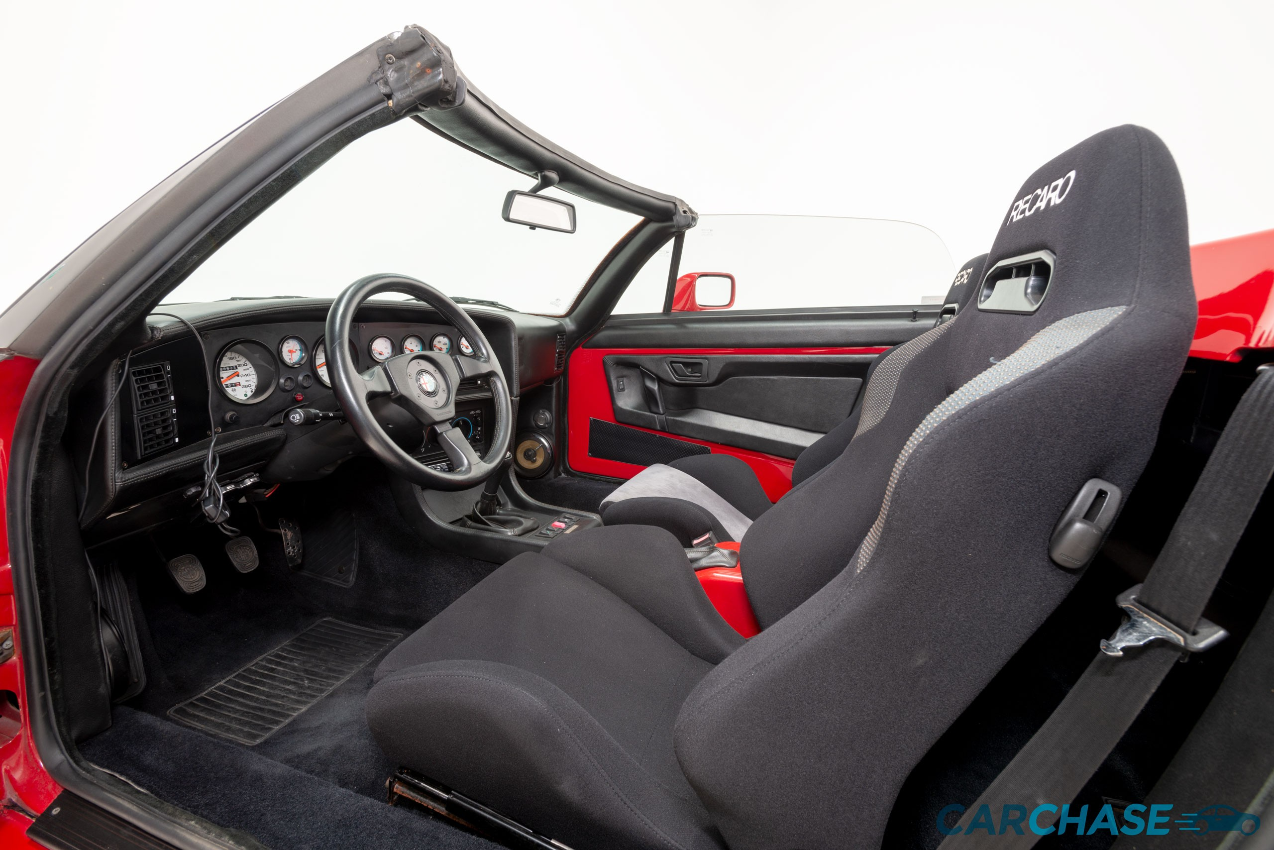 Image of driver profile of 1993 Alfa Romeo Zagato RZ