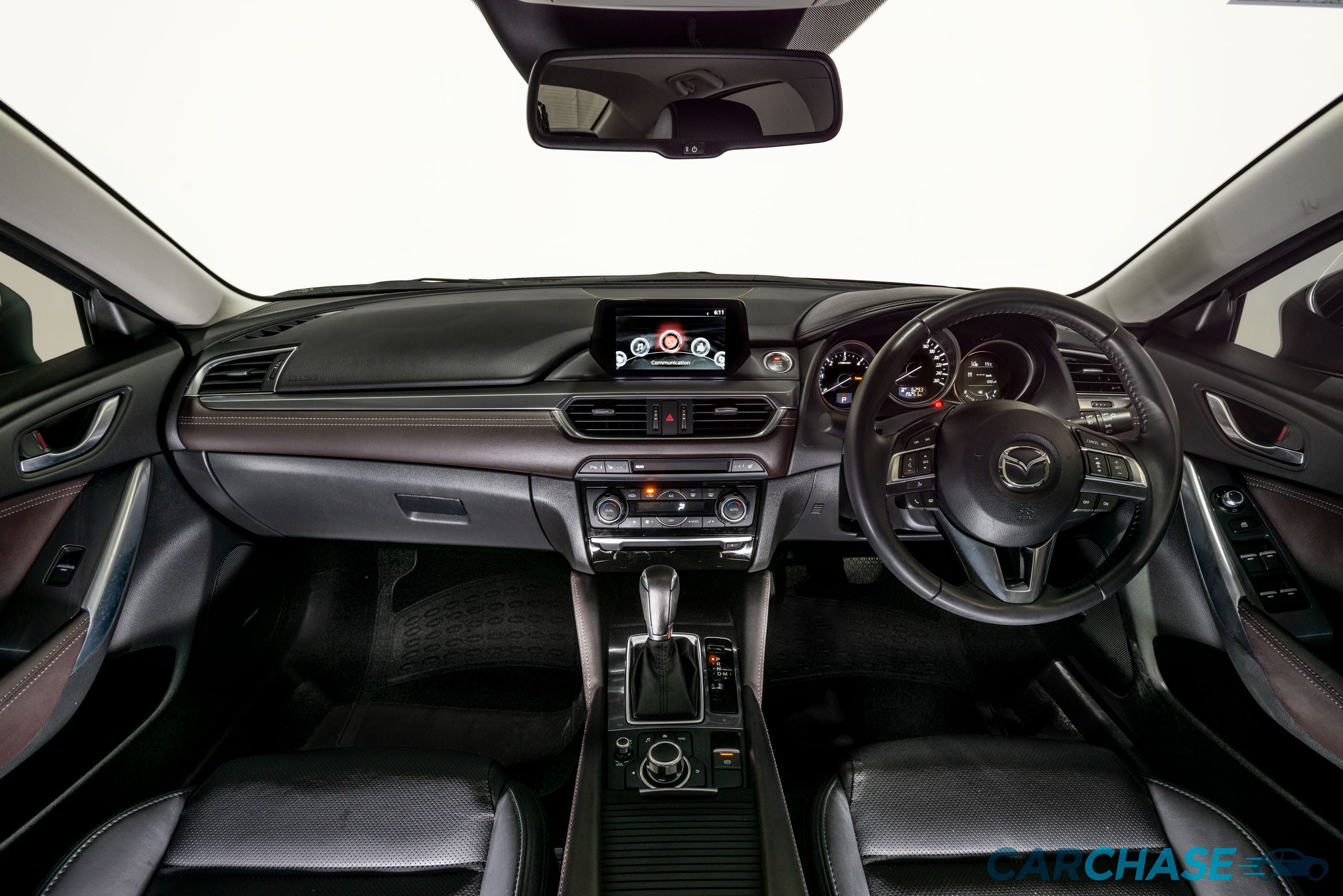 Image of dashboard profile of 2015 Mazda 6 Atenza