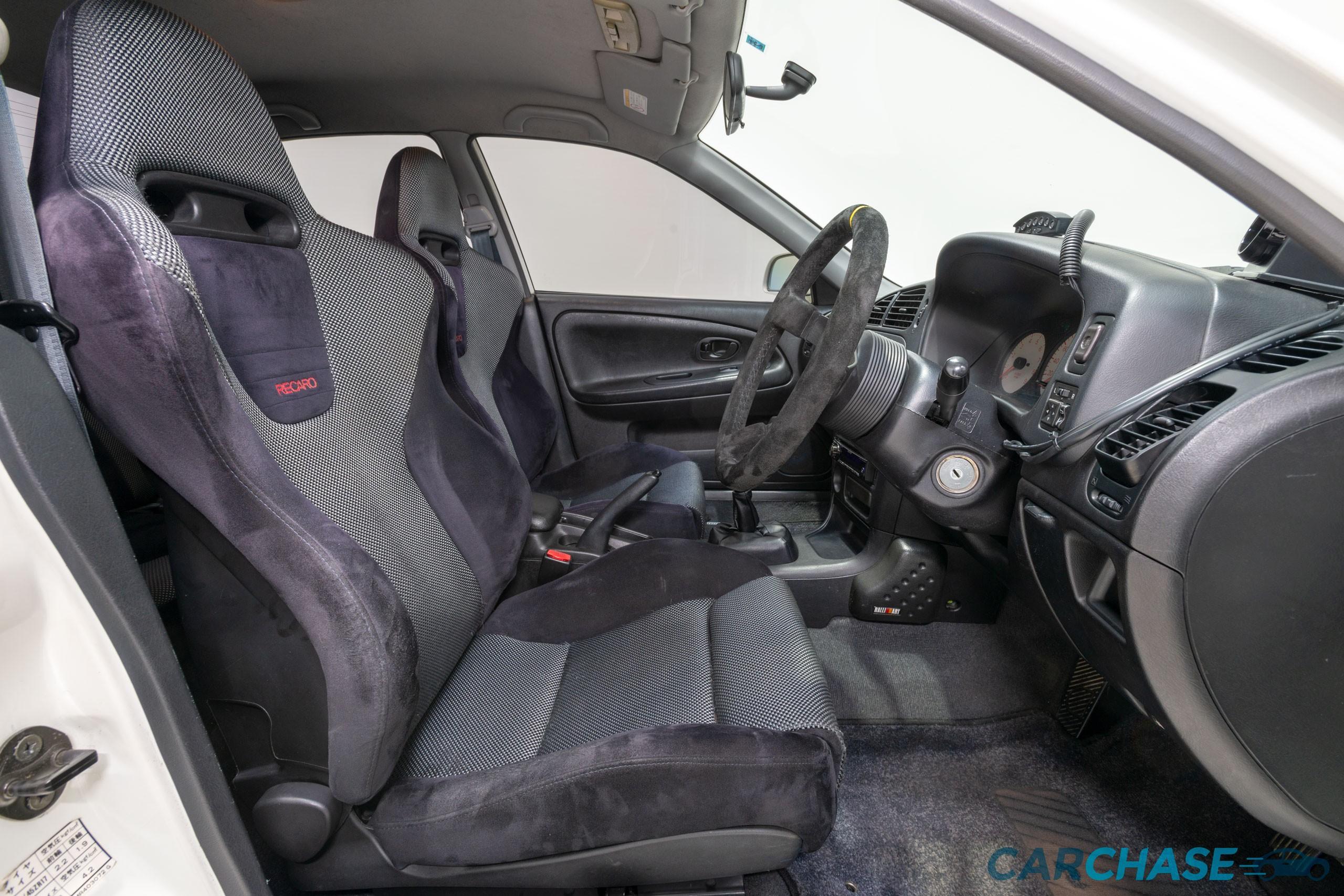 Image of driver front profile of 1998 Mitsubishi Lancer Evolution V