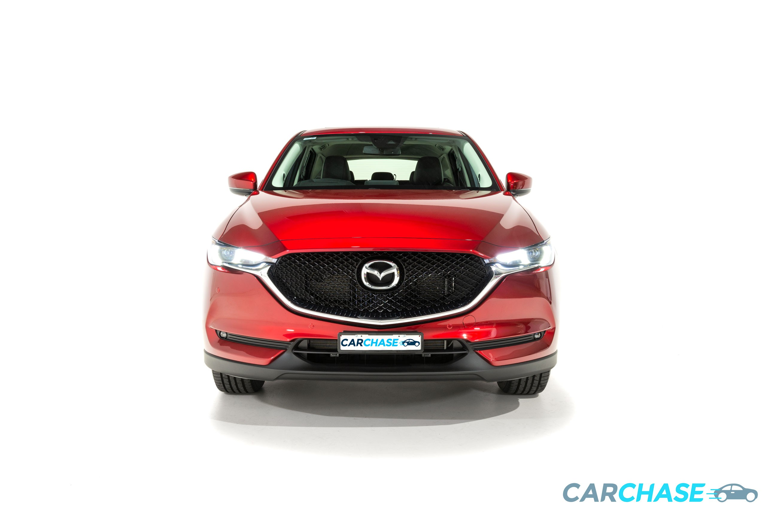 Image of front profile of 2018 Mazda CX-5 GT