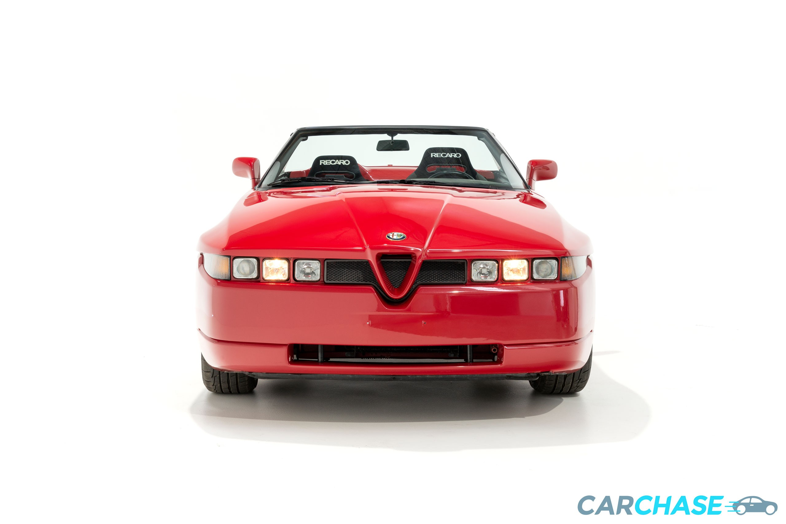 Image of front profile of 1993 Alfa Romeo Zagato RZ