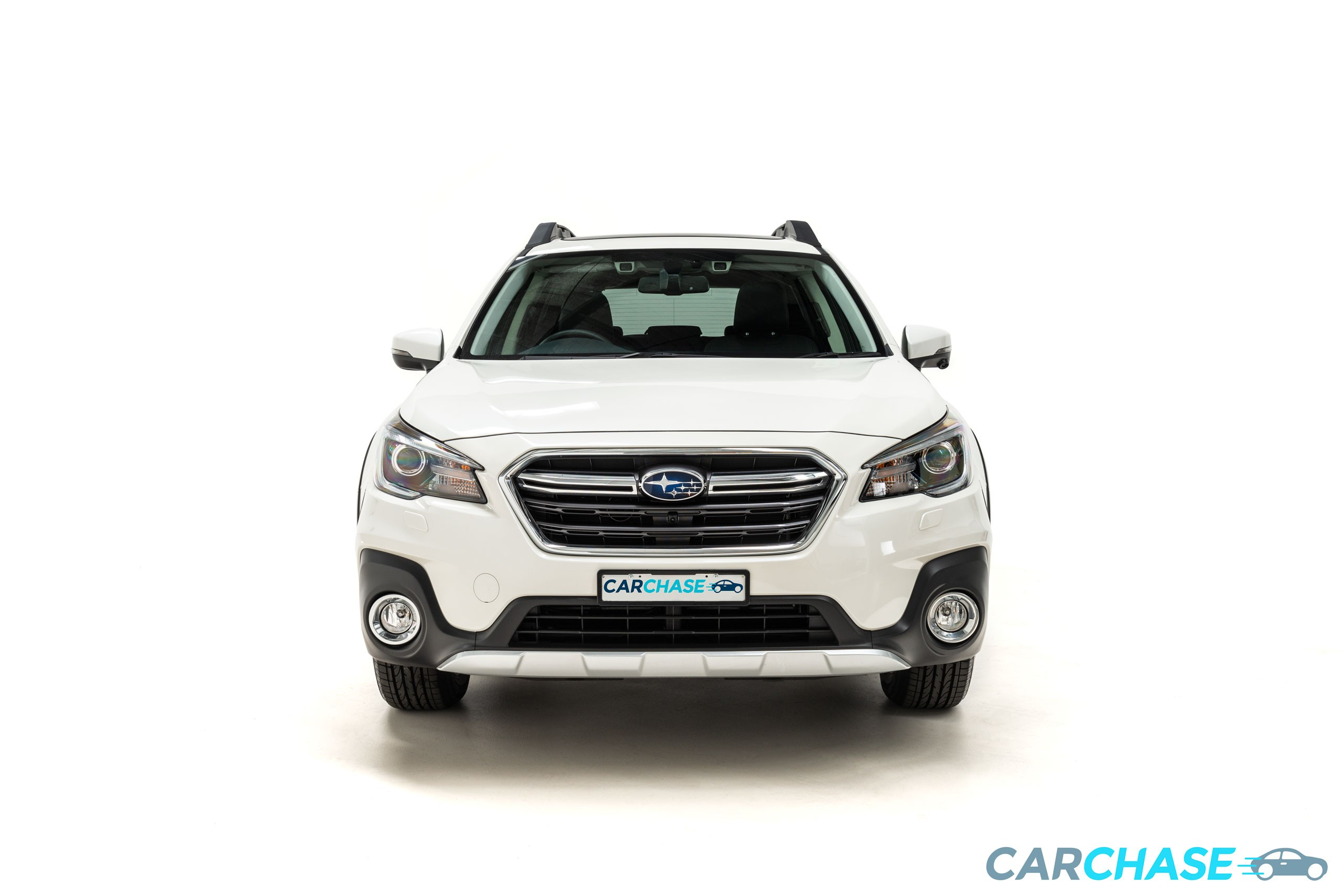 Image of front profile of 2018 Subaru Outback 2.5i Premium