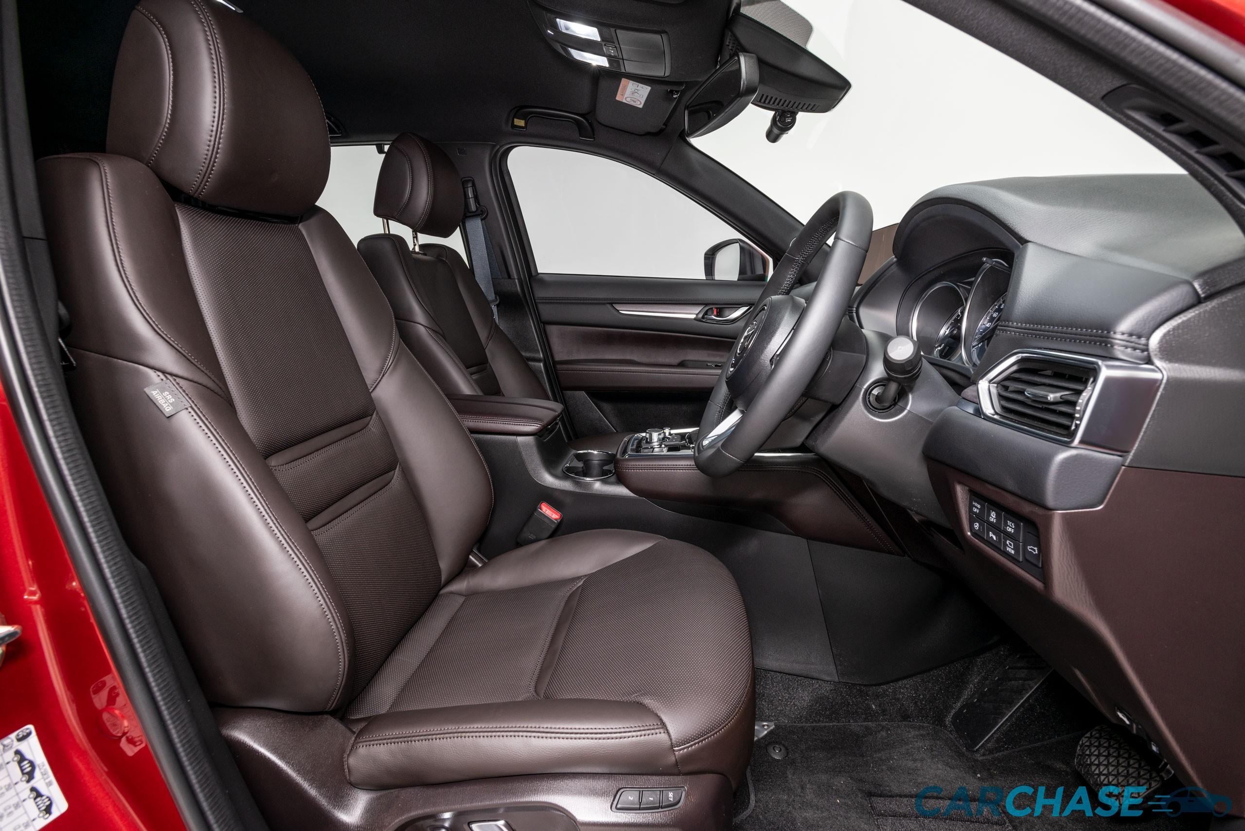 Image of driver front profile of 2018 Mazda CX-8 Asaki