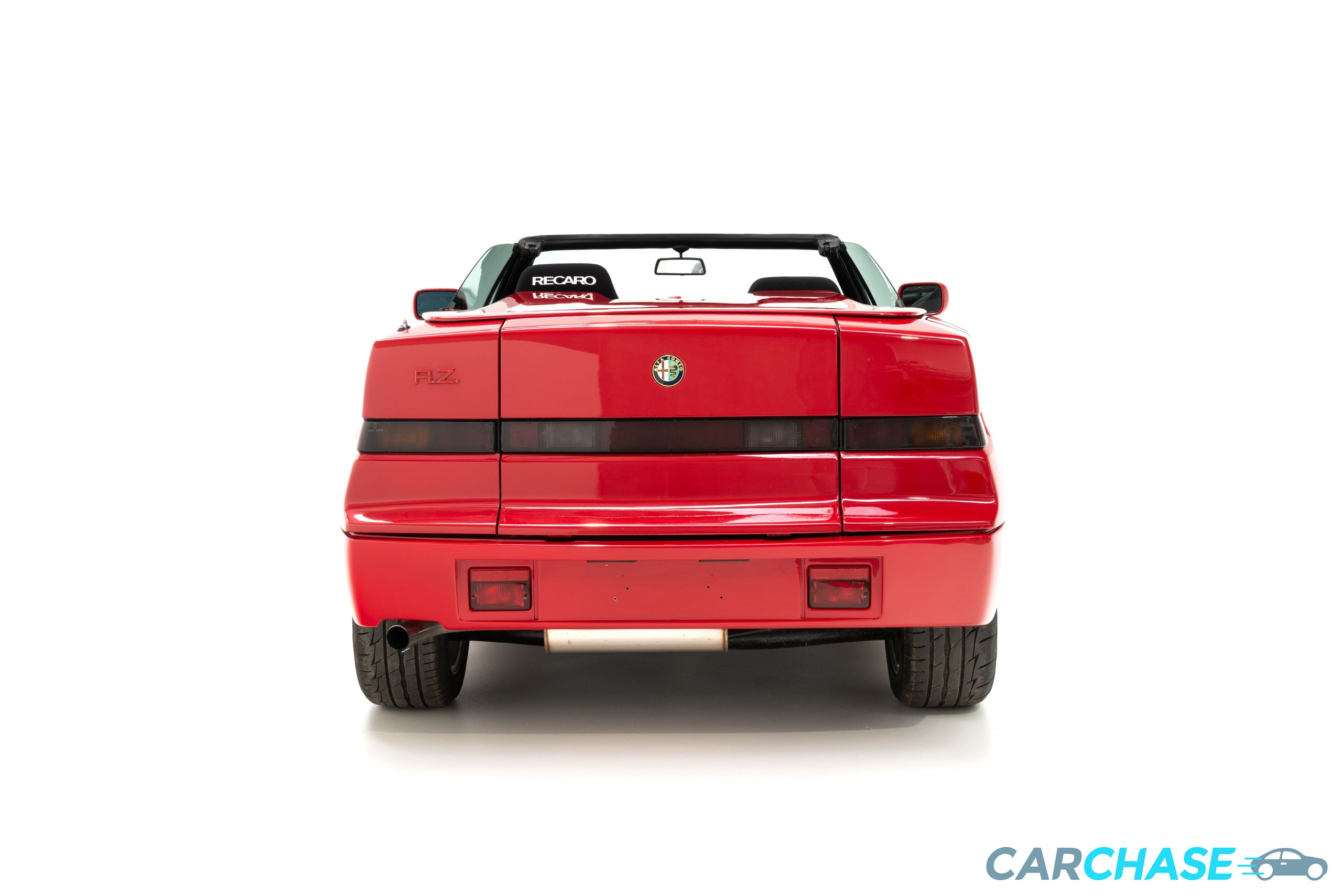 Image of rear profile of 1993 Alfa Romeo Zagato RZ