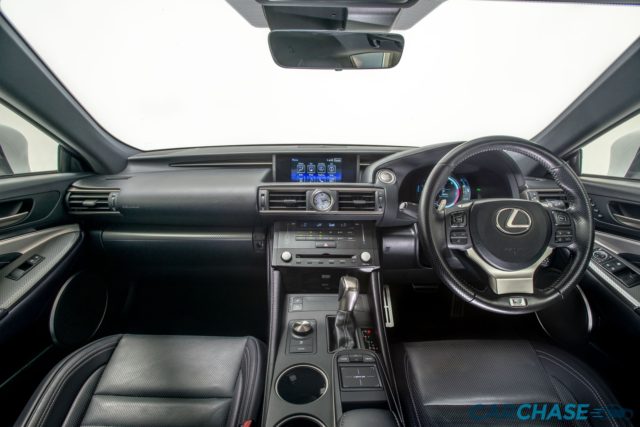 Image of dashboard profile of 2016 Lexus RC RC350 F Sport