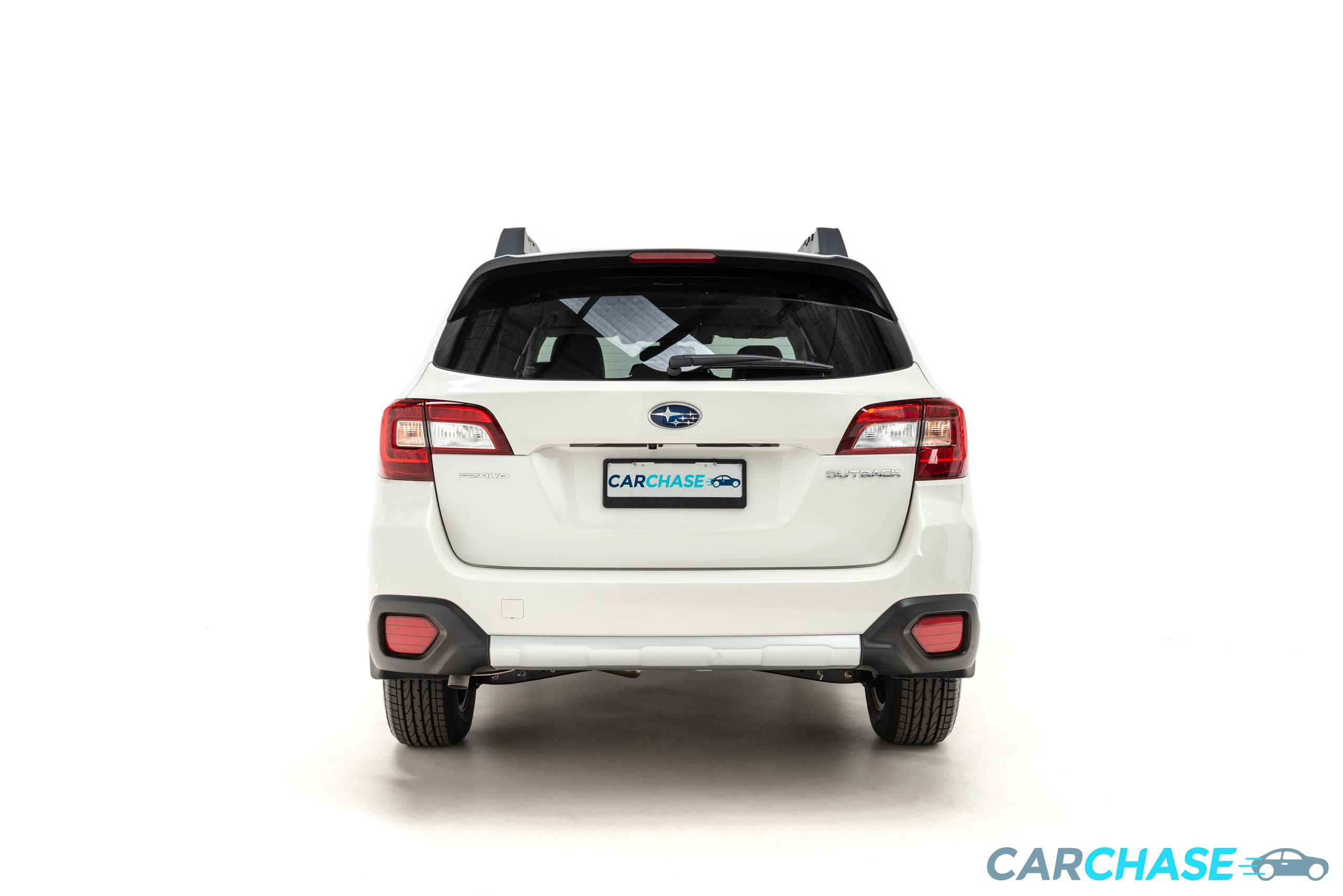 Image of rear profile of 2018 Subaru Outback 2.5i Premium