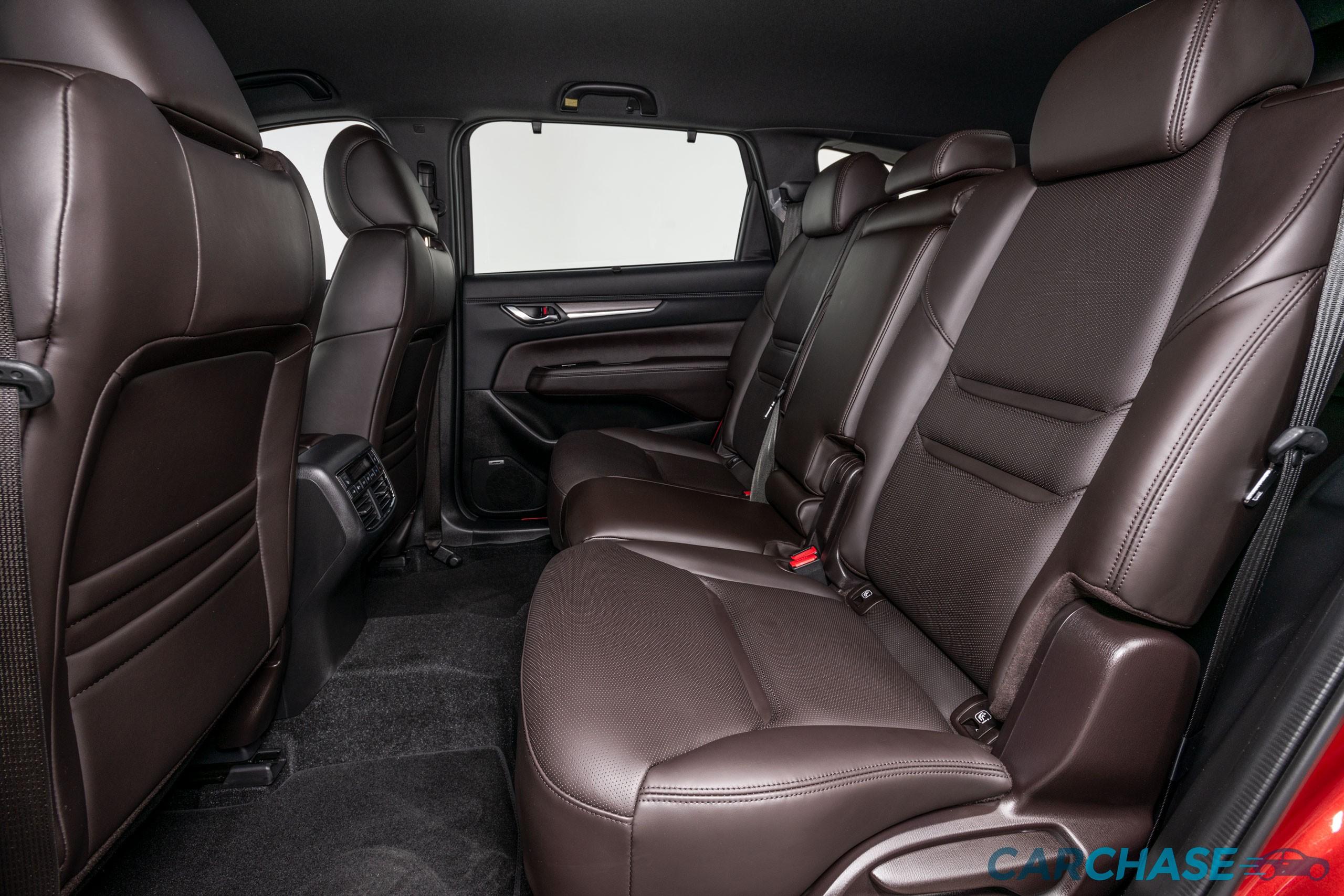 Image of passenger rear profile of 2018 Mazda CX-8 Asaki