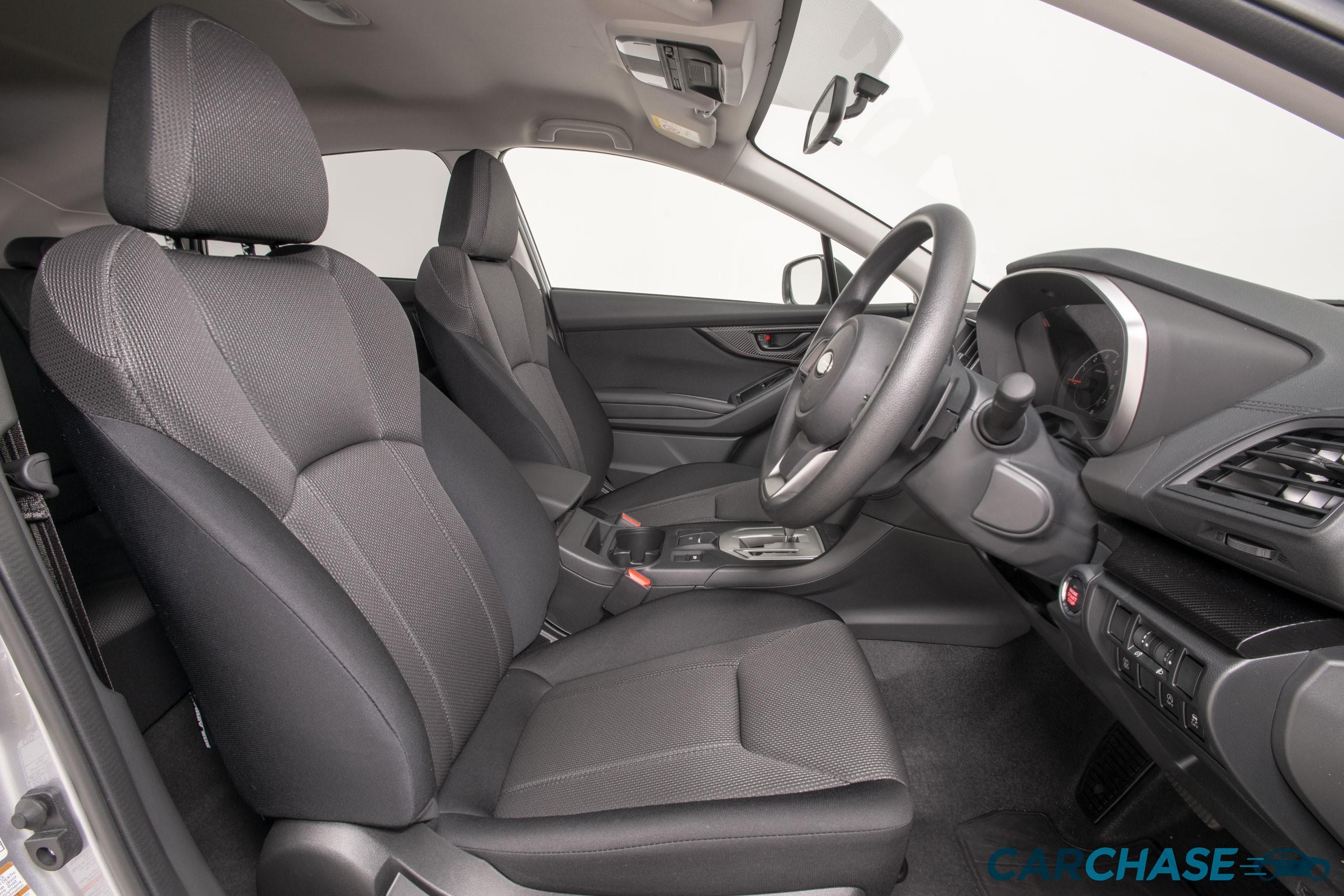 Image of driver front profile of 2018 Subaru Impreza 2.0i