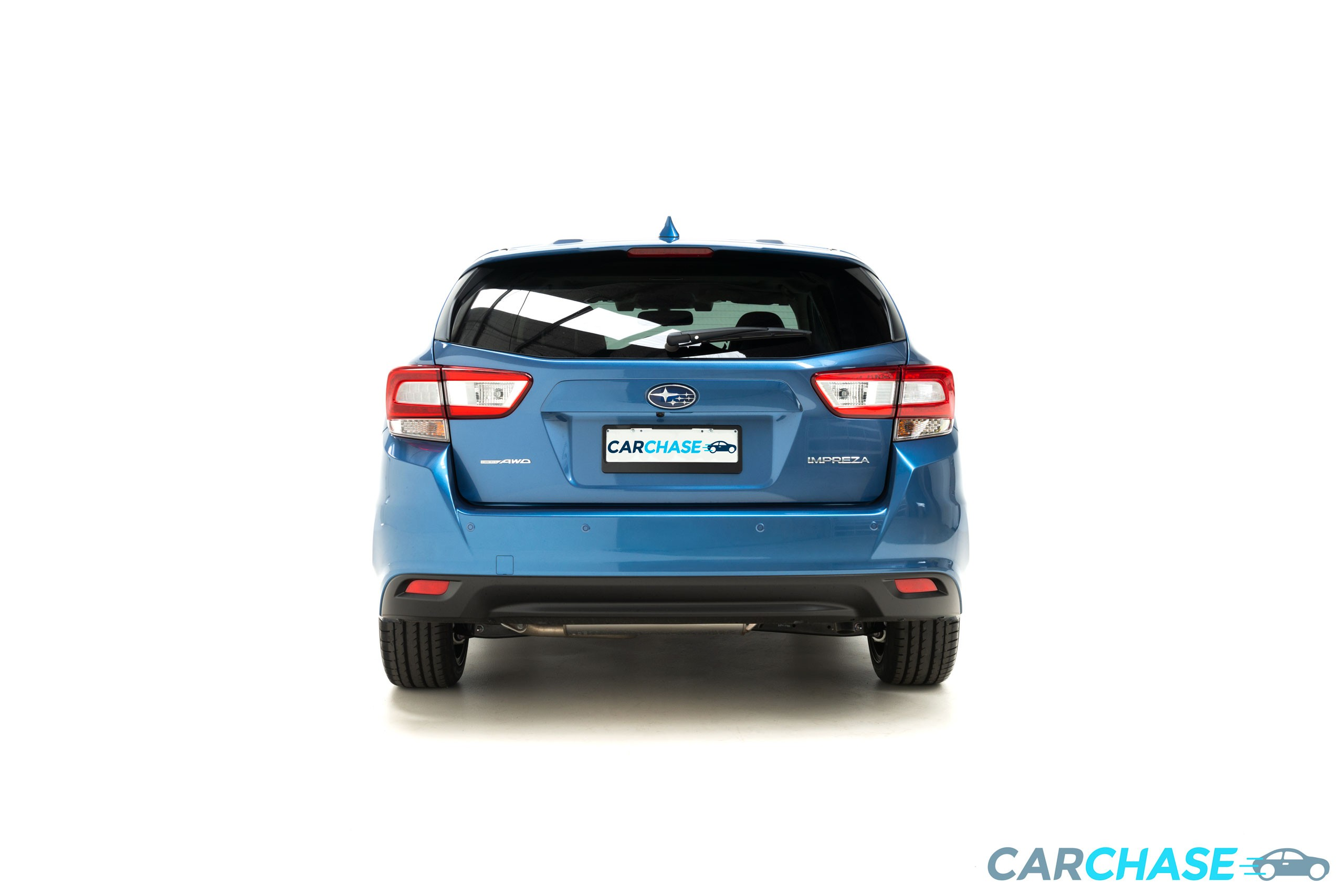 Image of back profile of 2018 Subaru Impreza 2.0i-S