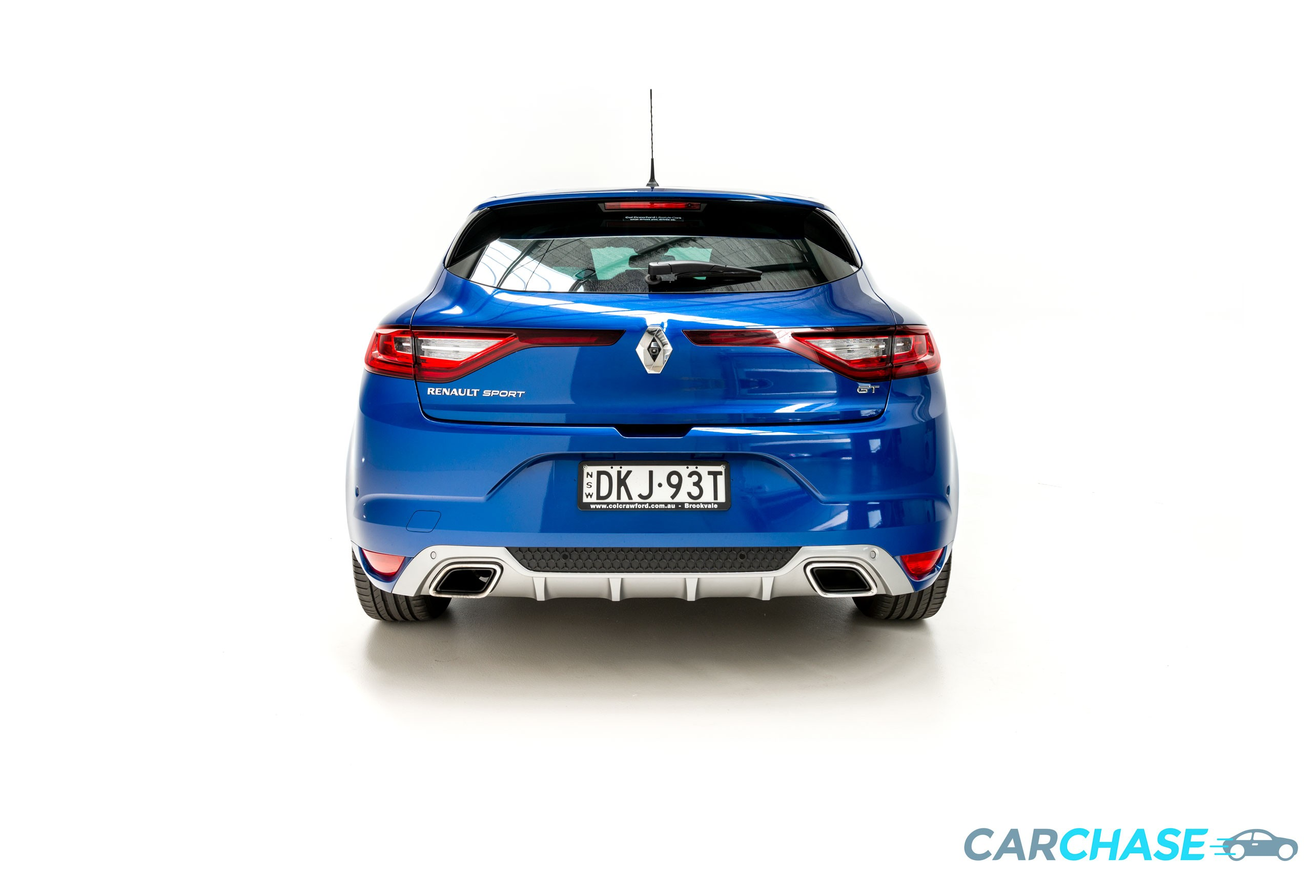 Image of rear profile of 2016 Renault Megane GT