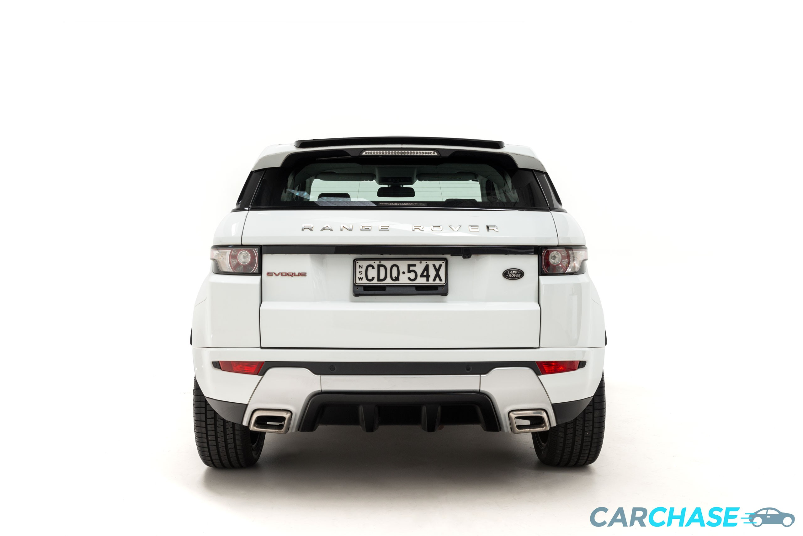 Image of back profile of 2013 Land Rover Range Rover Evoque SD4 Dynamic