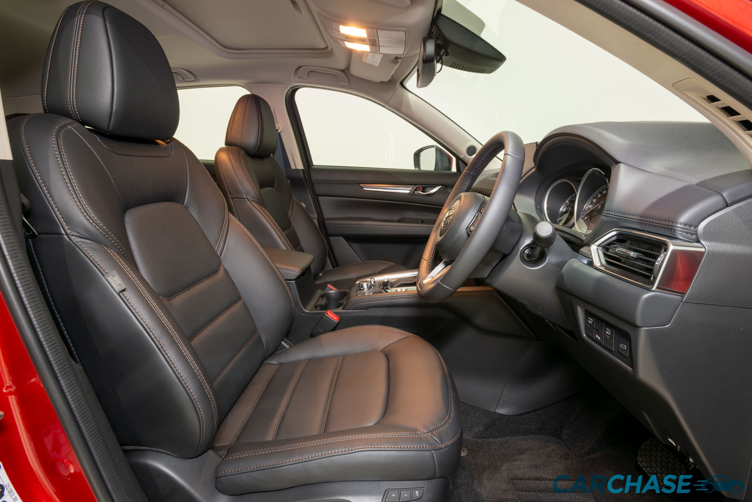 Image of driver front profile of 2018 Mazda CX-5 GT
