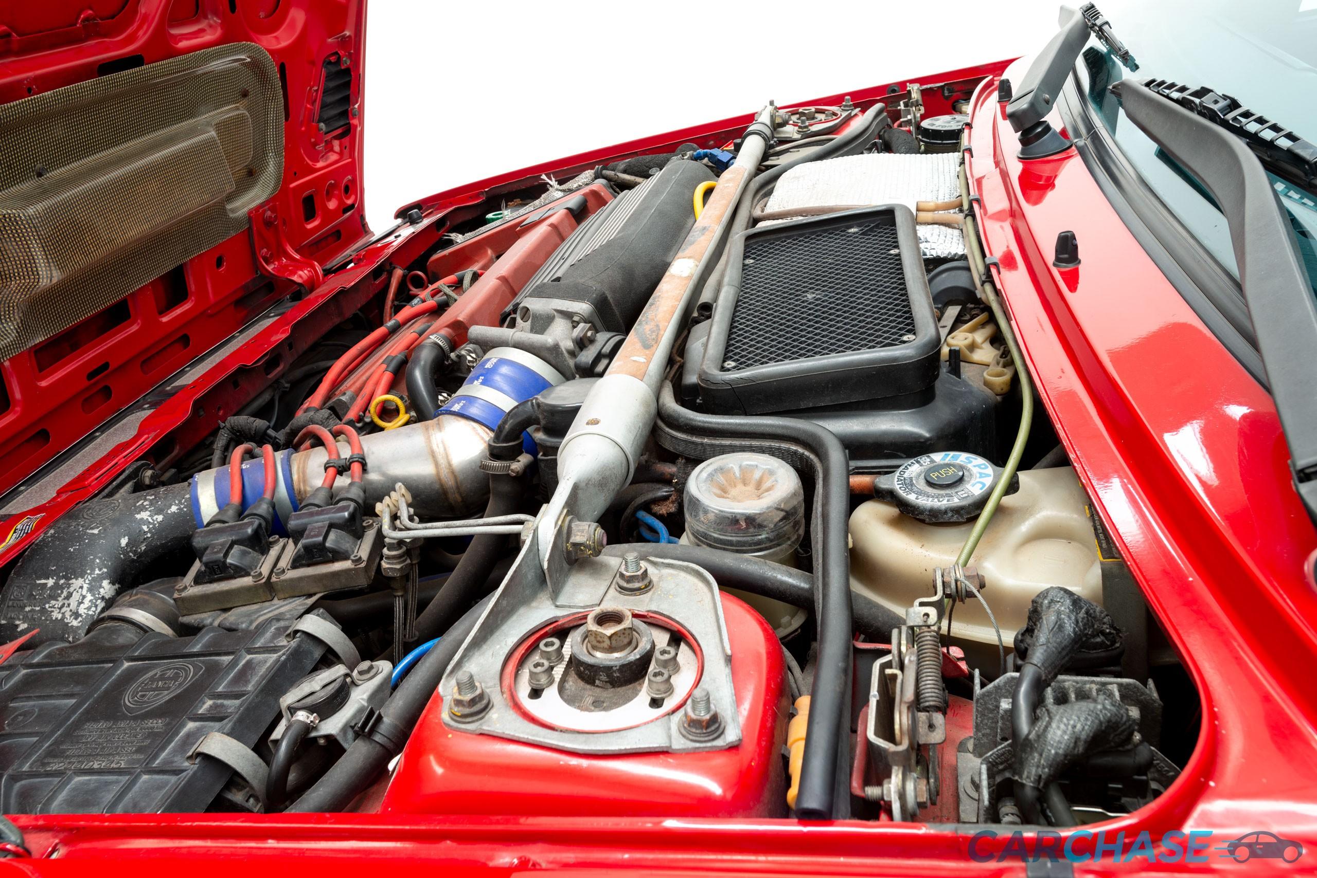 Image of engine profile of 1993 Lancia Delta Integrale Evo 2