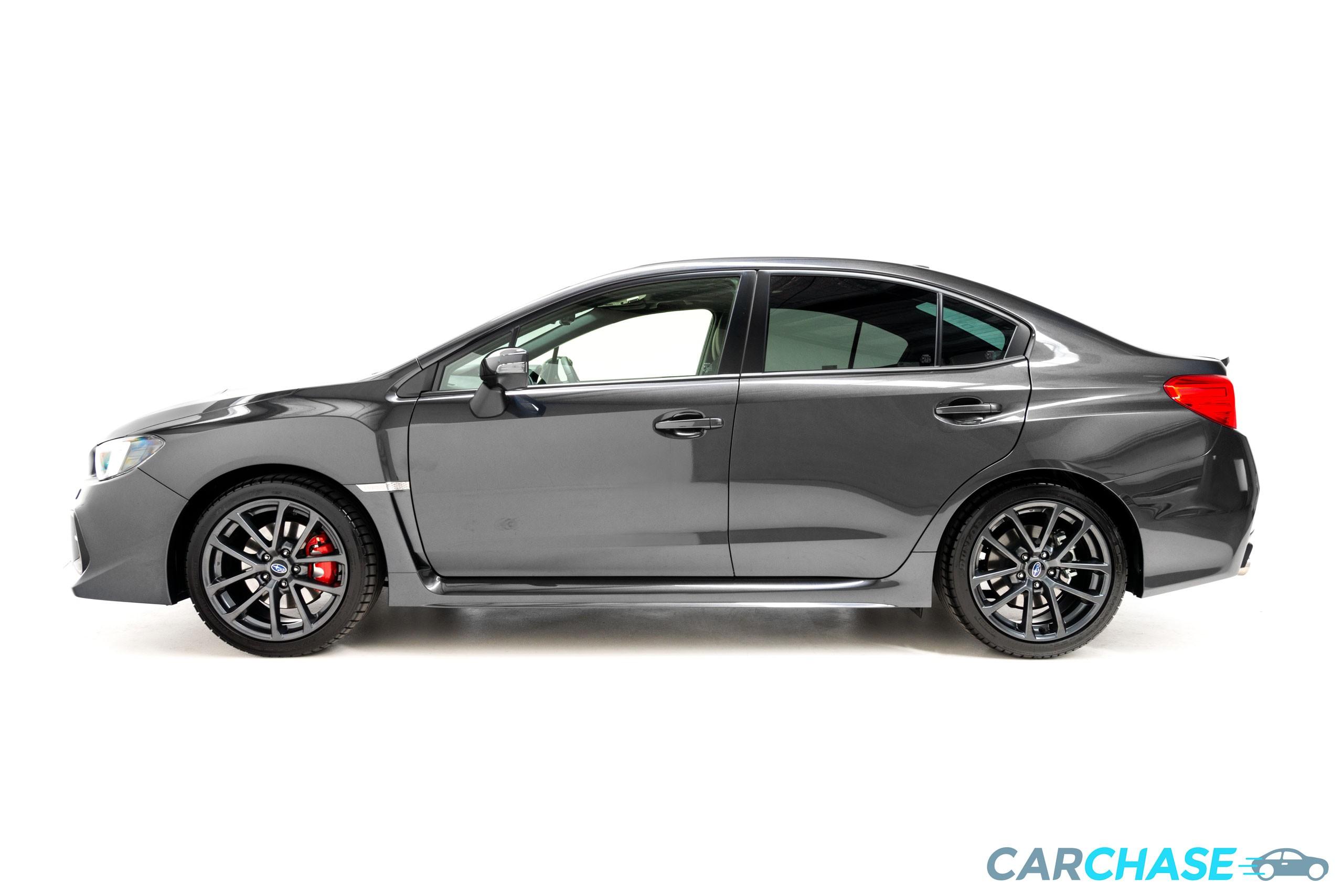 Image of left profile of 2018 Subaru WRX Premium