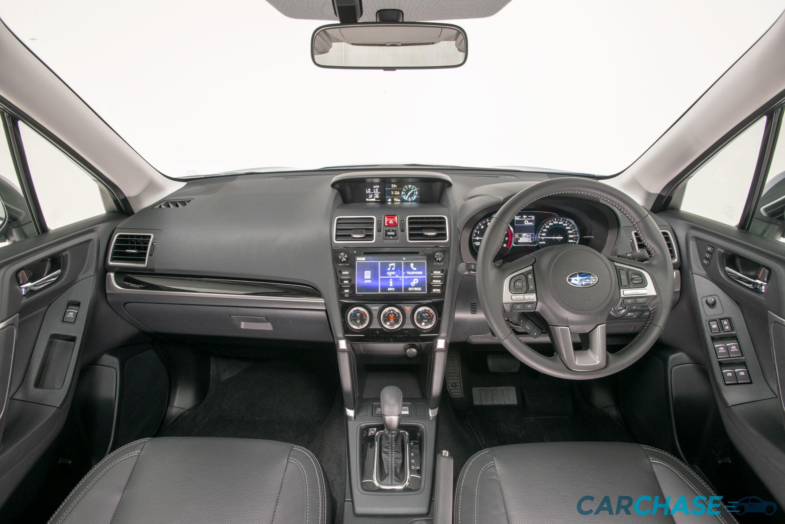 Image of dashboard profile of 2018 Subaru Forester 2.5i-L Luxury