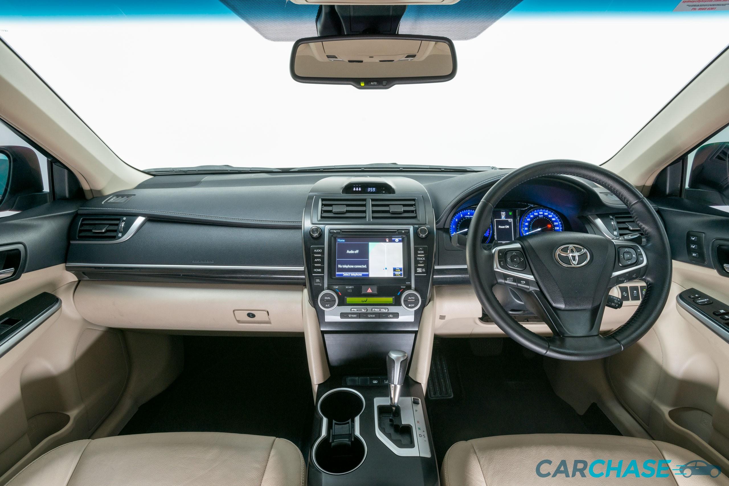 Image of dashboard profile of 2015 Toyota Camry Atara SL