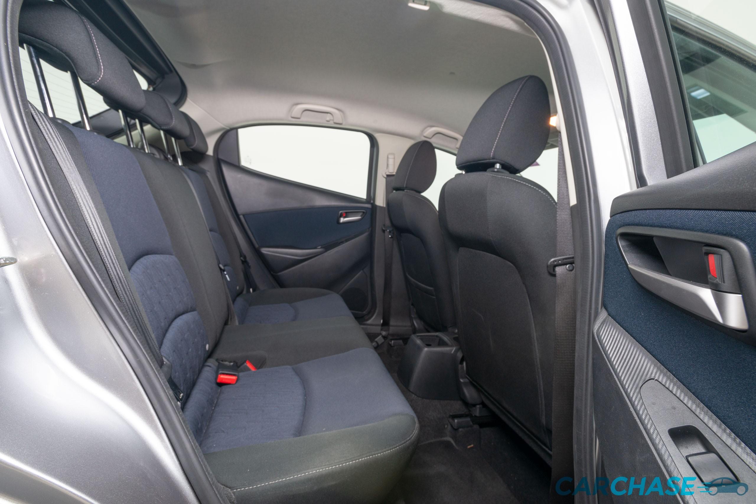 Image of driver rear profile of 2016 Mazda 2 Maxx DJ