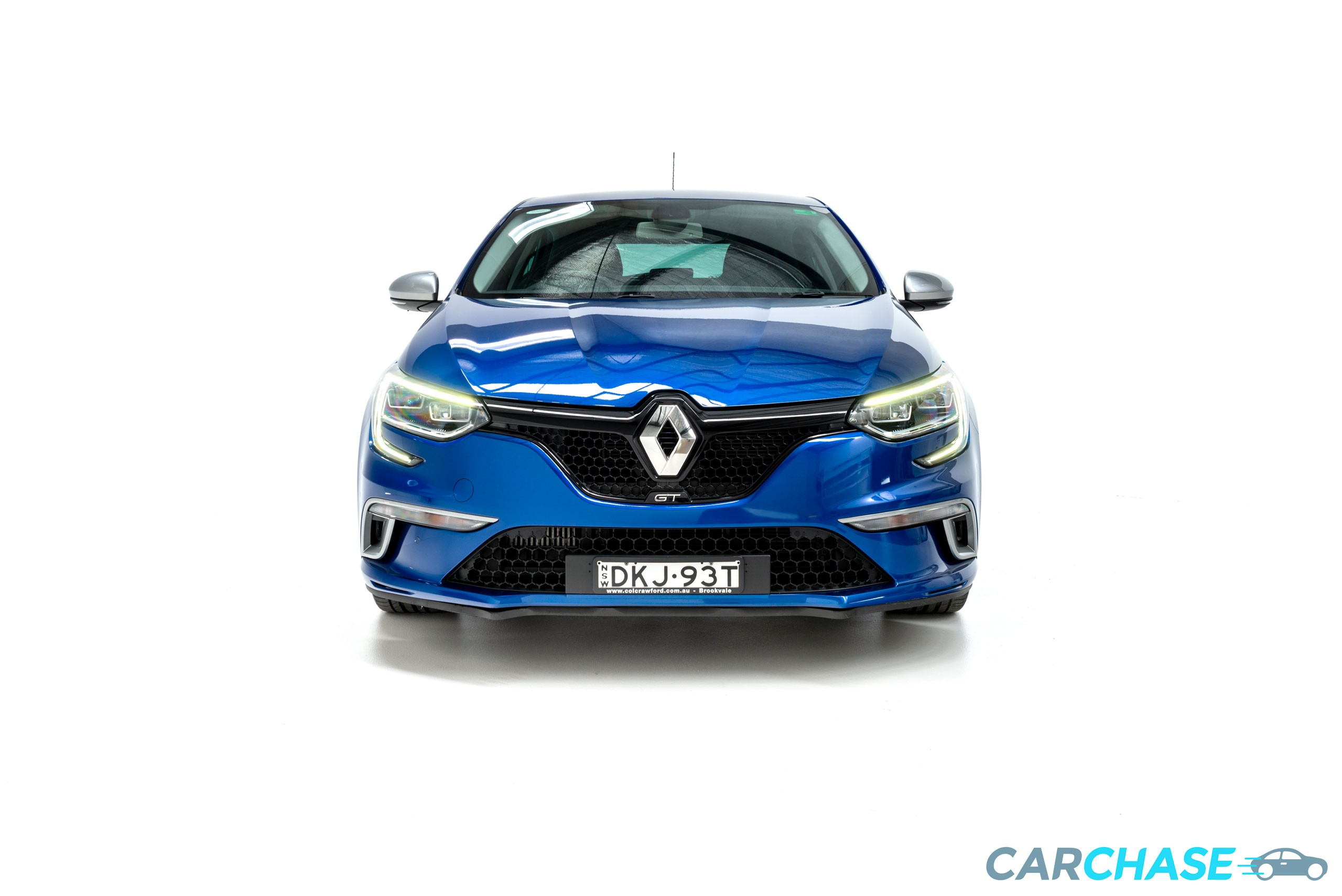 Image of front profile of 2016 Renault Megane GT