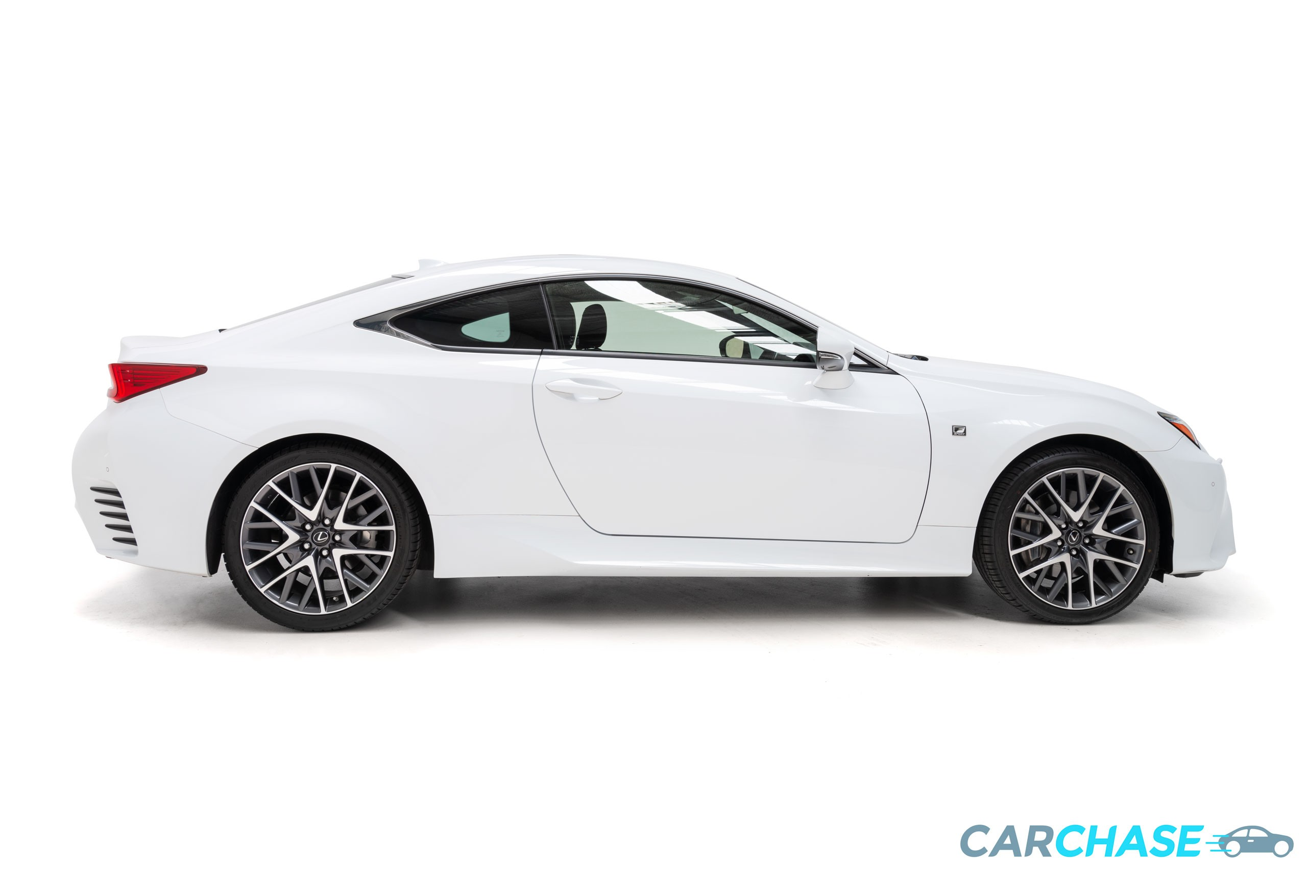 Image of right profile of 2016 Lexus RC RC350 F Sport