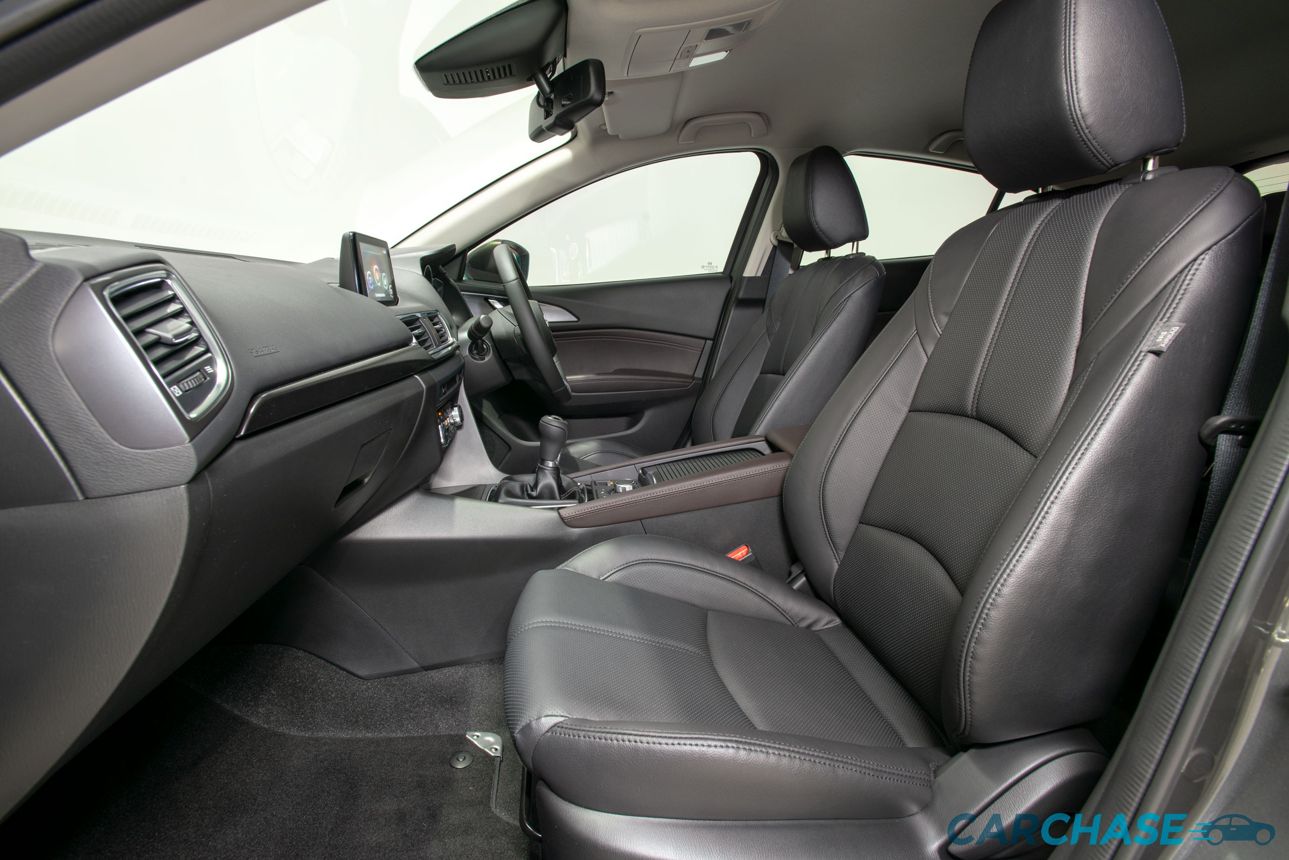 Image of passenger front profile of 2018 Mazda 3 SP25 GT