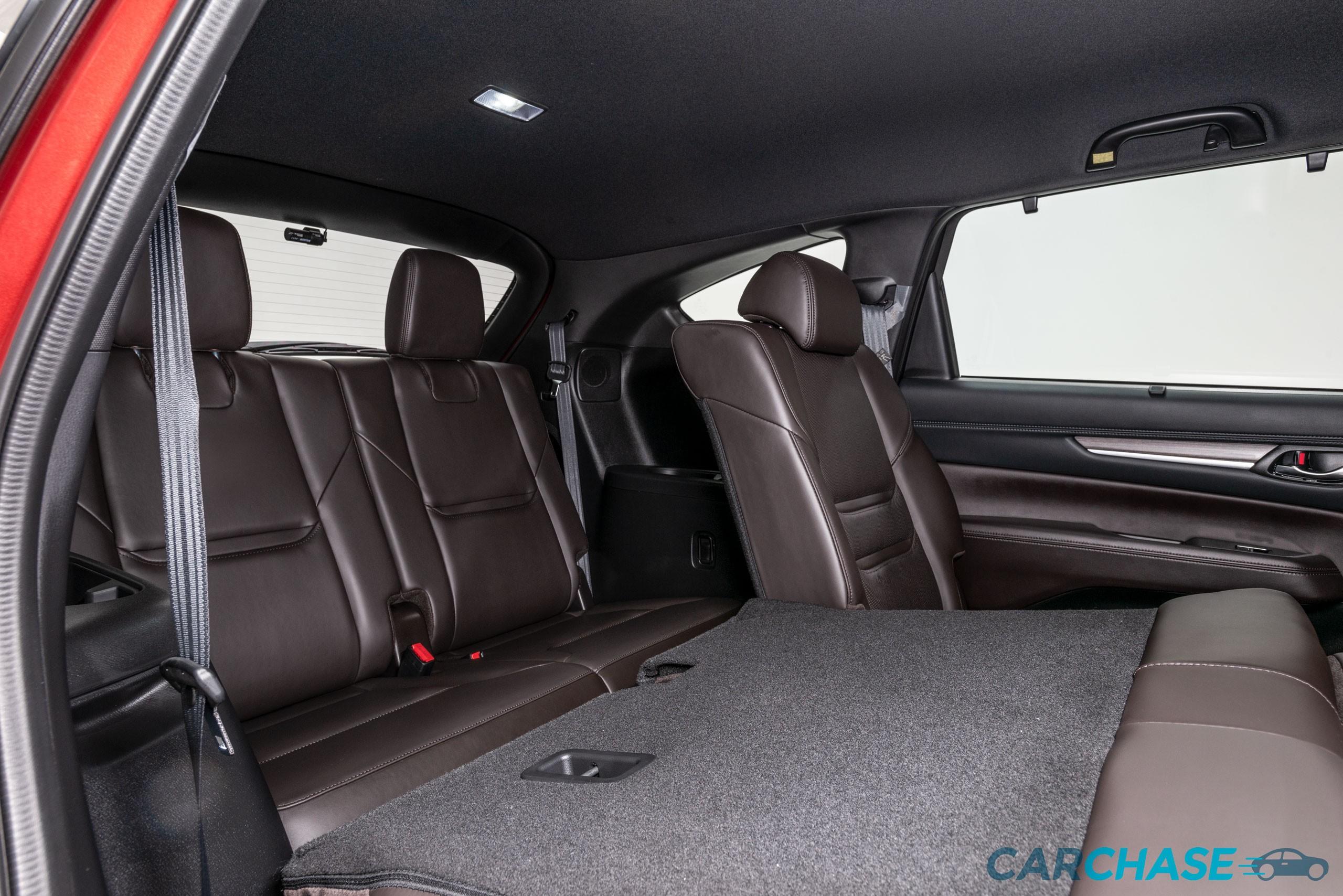 Image of driver rear 2 profile of 2018 Mazda CX-8 Asaki