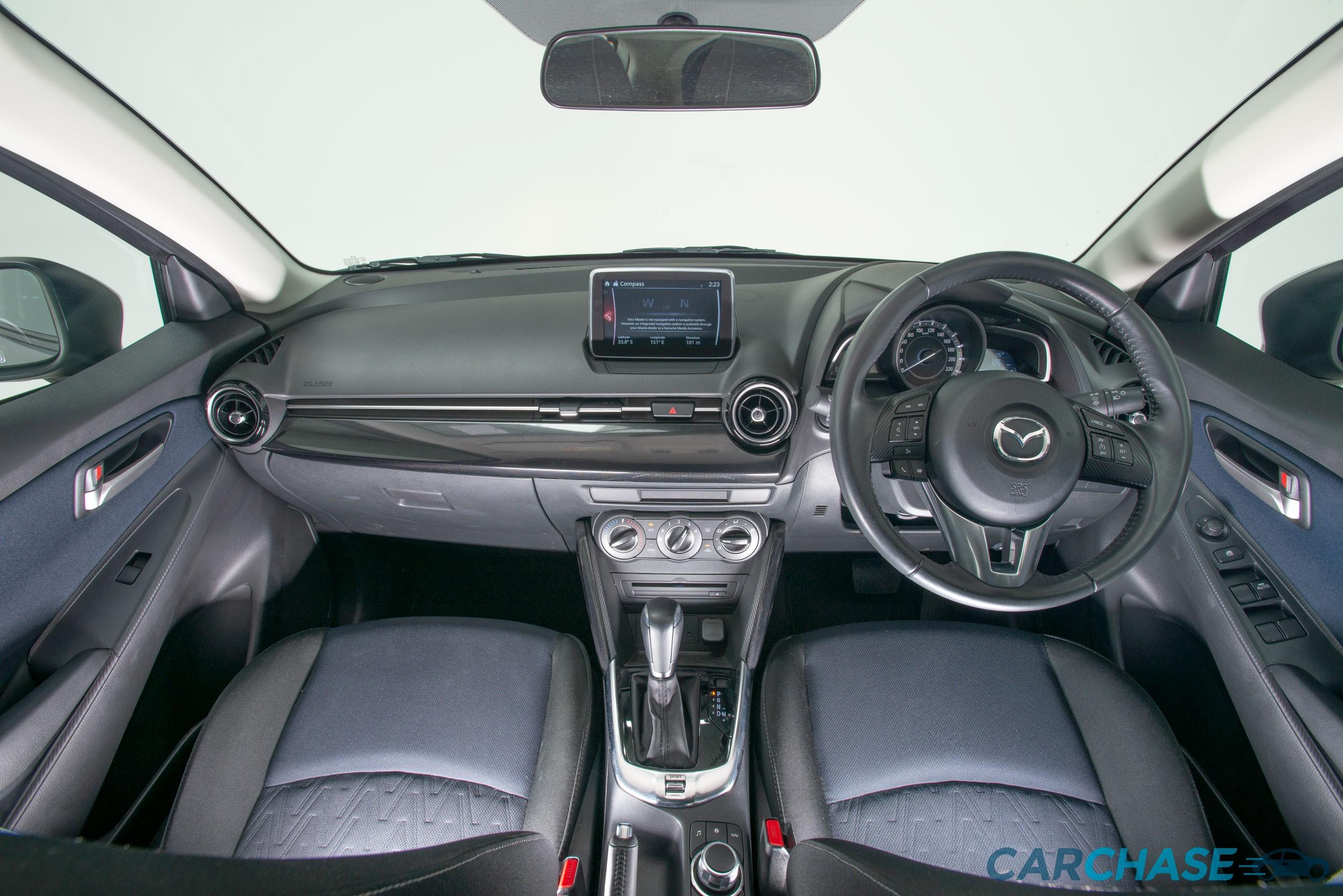 Image of dashboard profile of 2016 Mazda 2 Maxx DJ