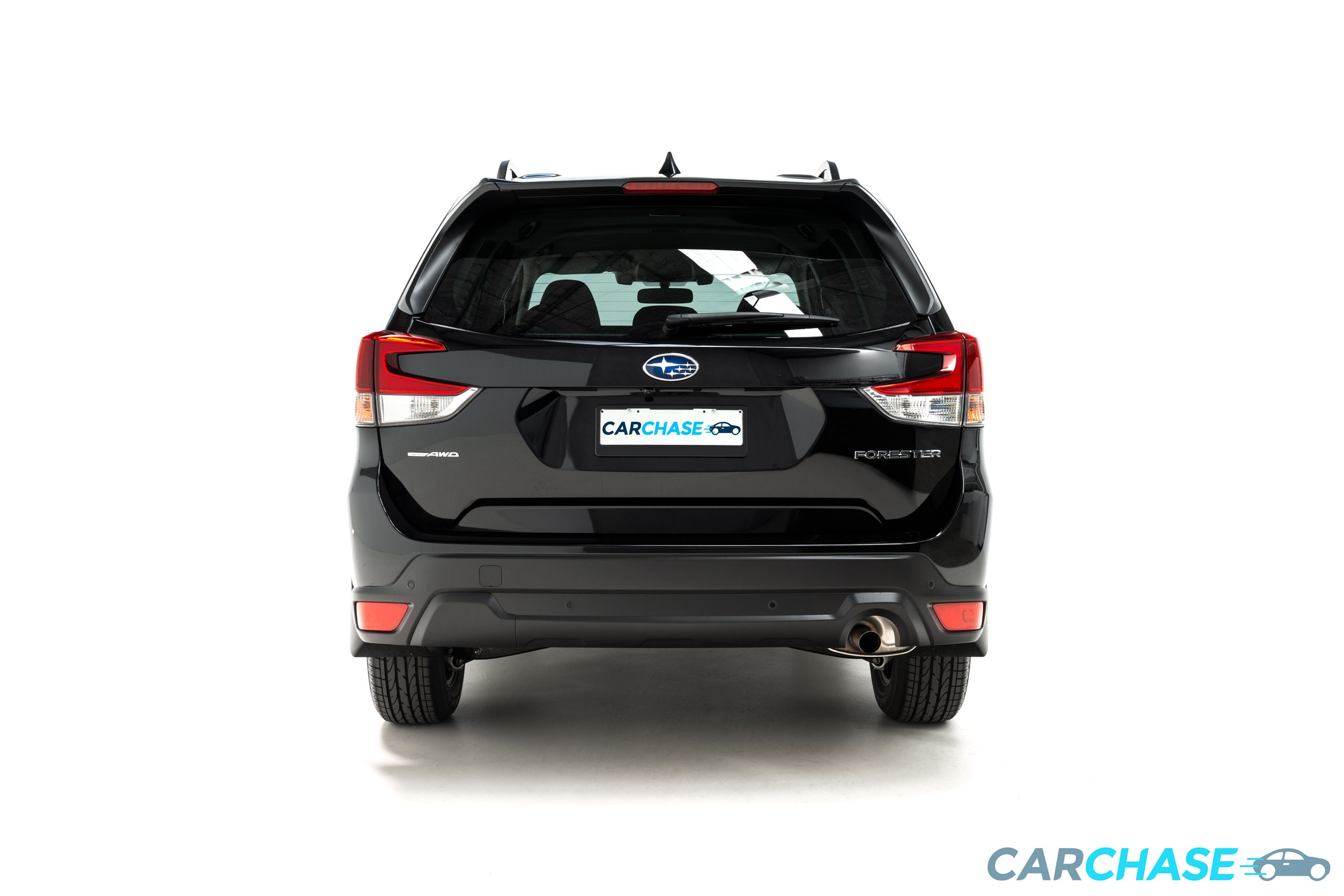 Image of back profile of 2018 Subaru Forester 2.5i-L