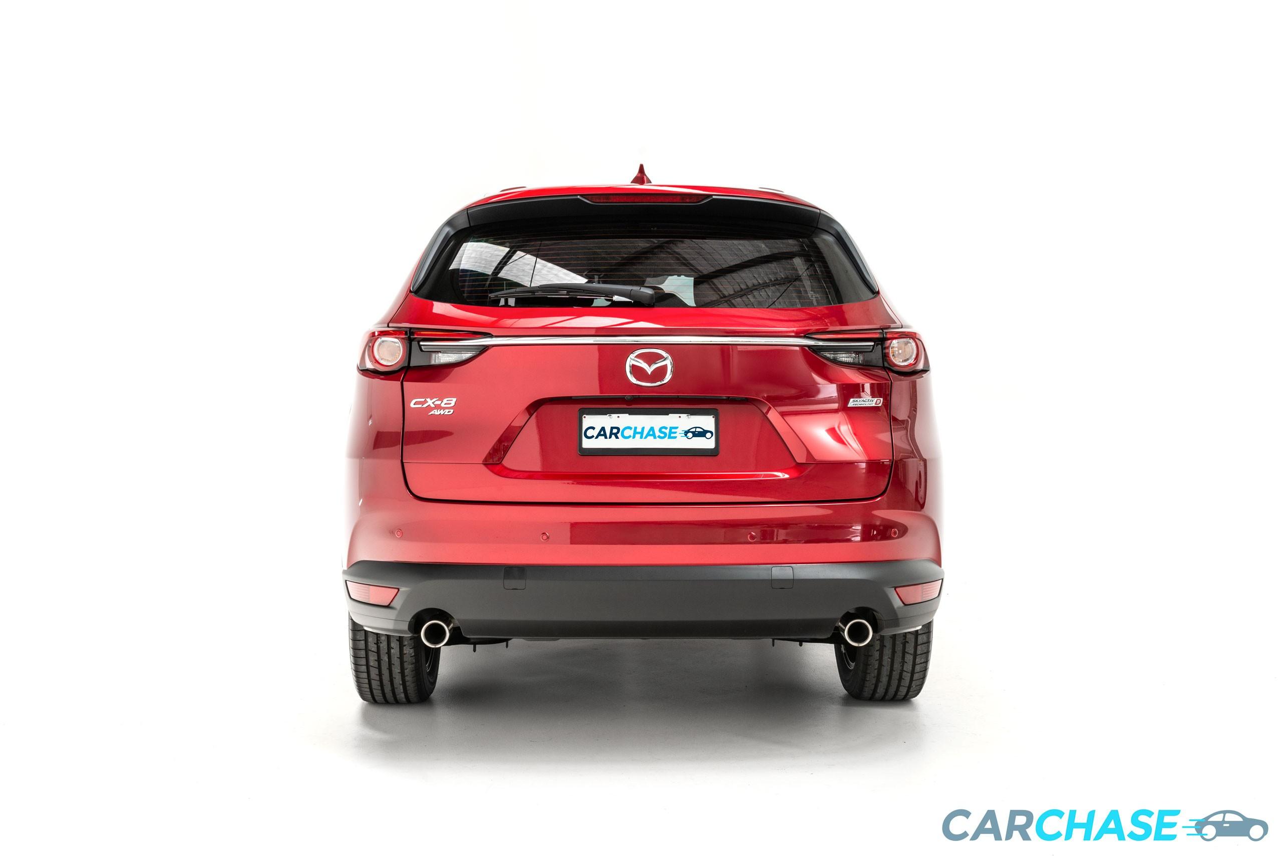Image of rear profile of 2018 Mazda CX-8 Asaki