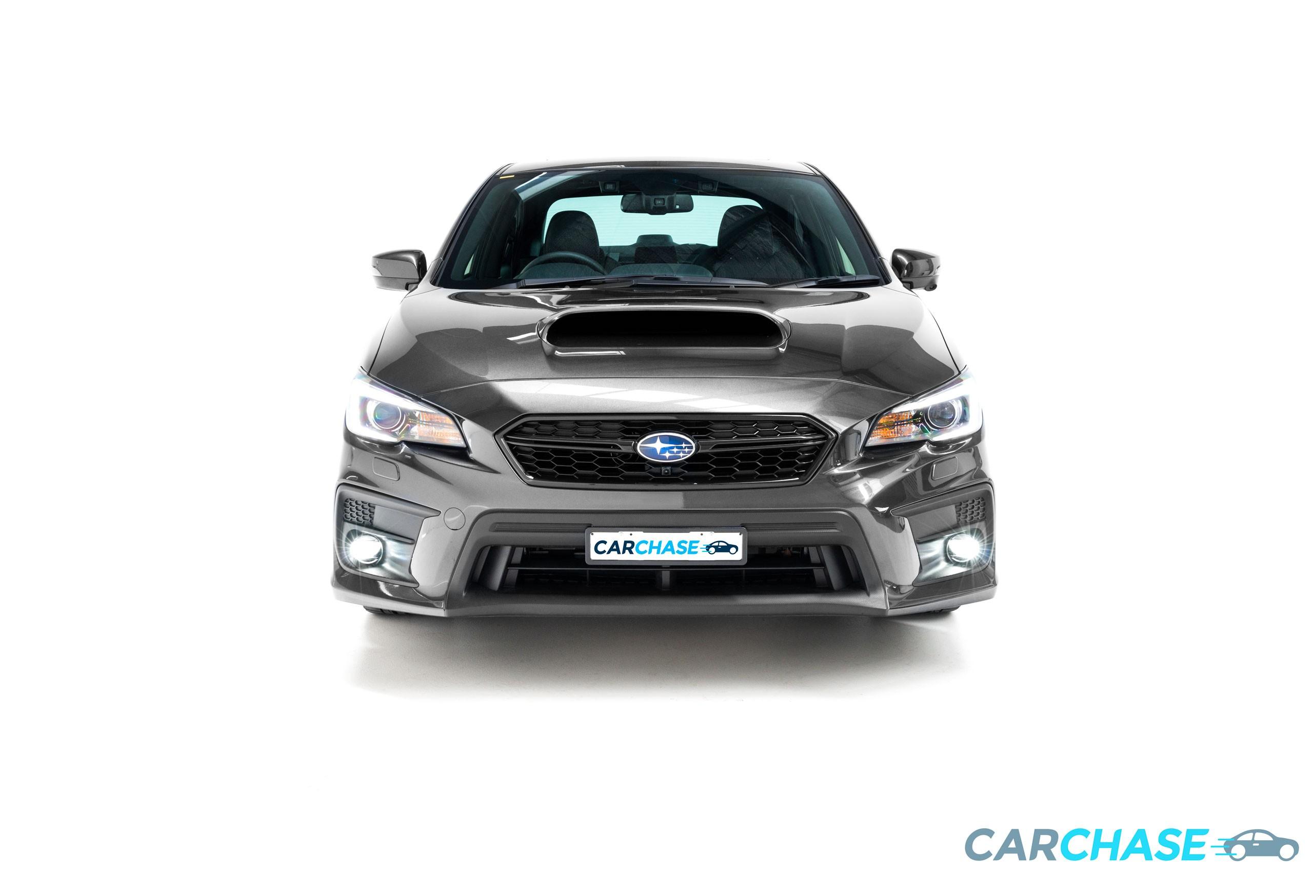 Image of front profile of 2018 Subaru WRX Premium