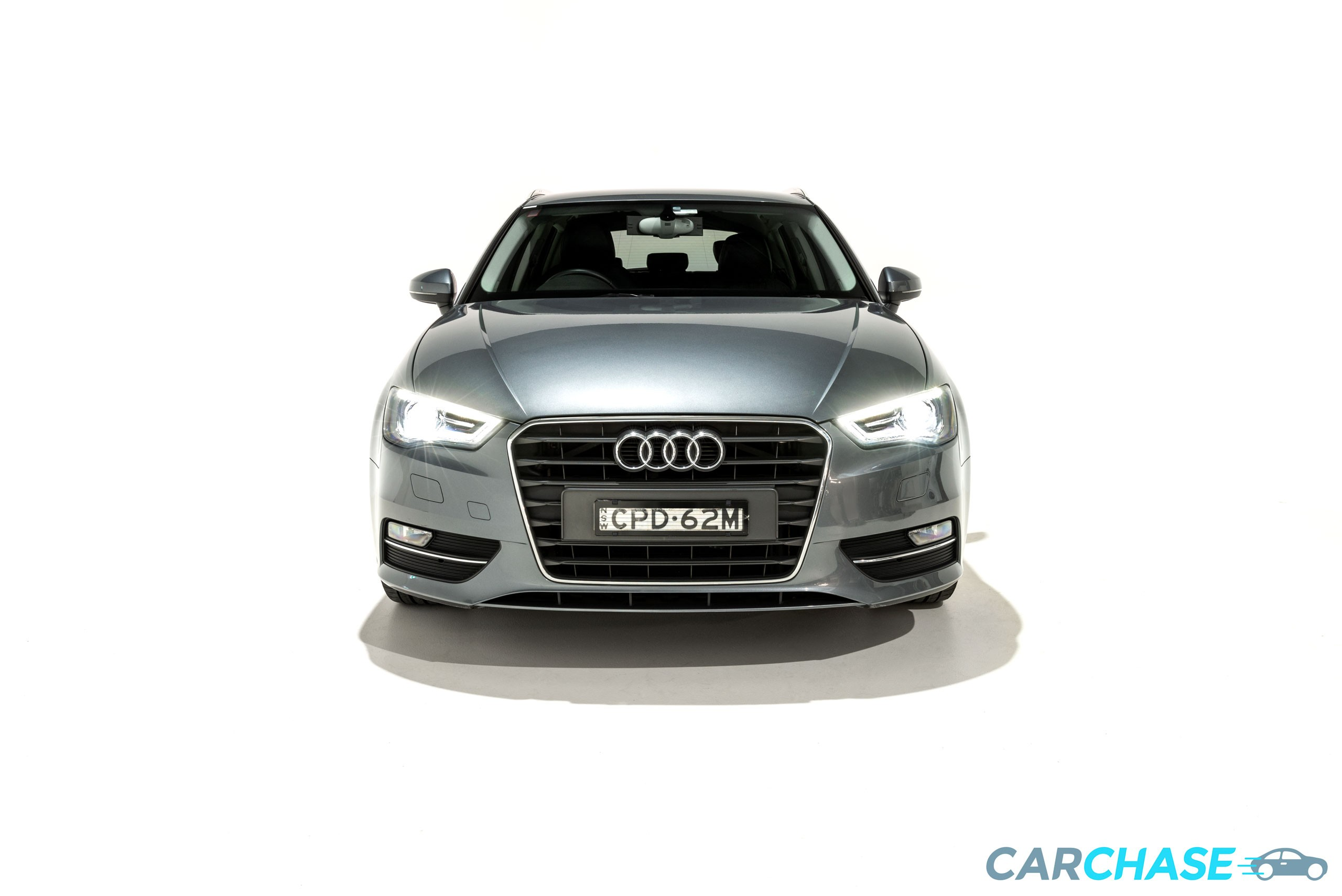 Image of front profile of 2013 Audi A3 Ambition