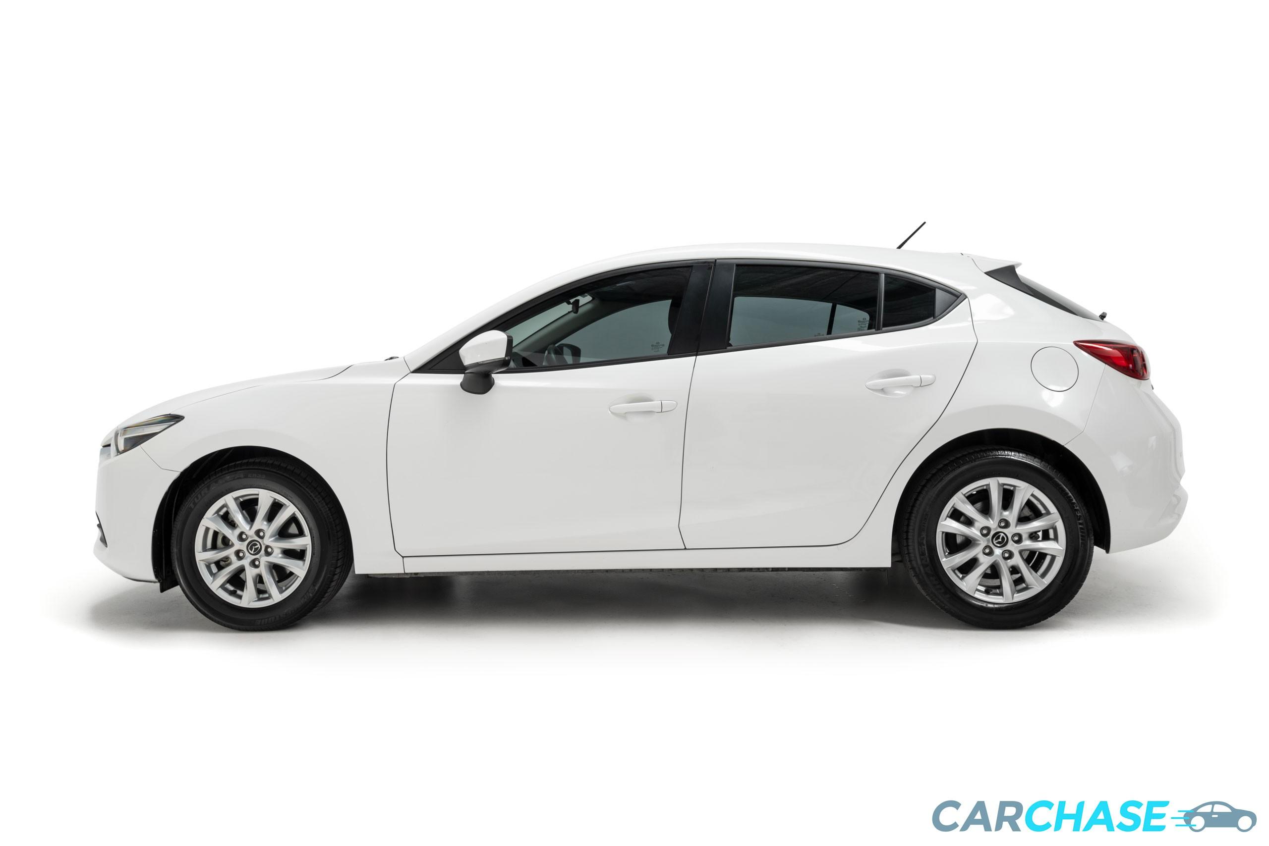 Image of left profile of 2016 Mazda 3 Neo BN Series