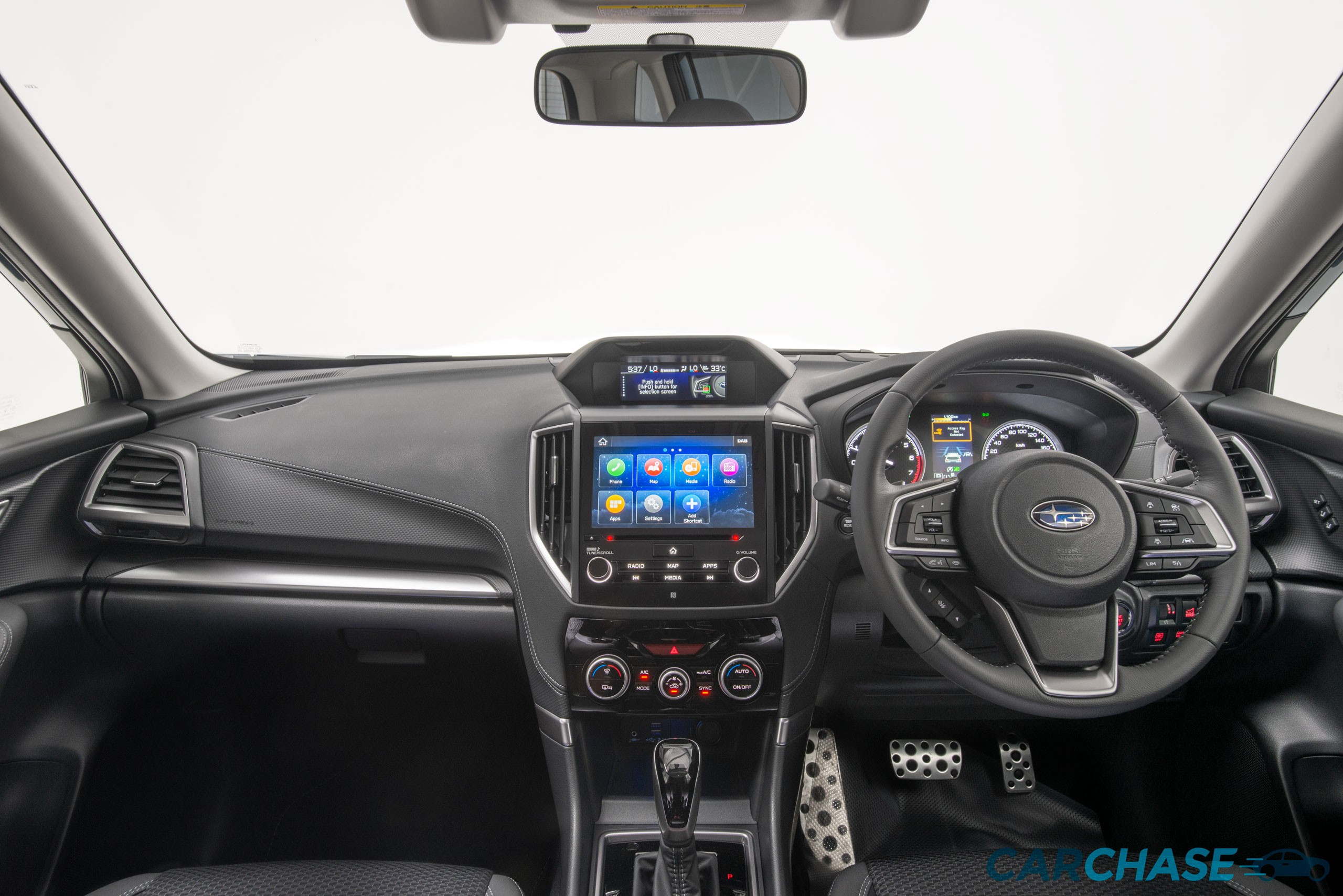 Image of dashboard profile of 2019 Subaru Forester 2.5i-Premium