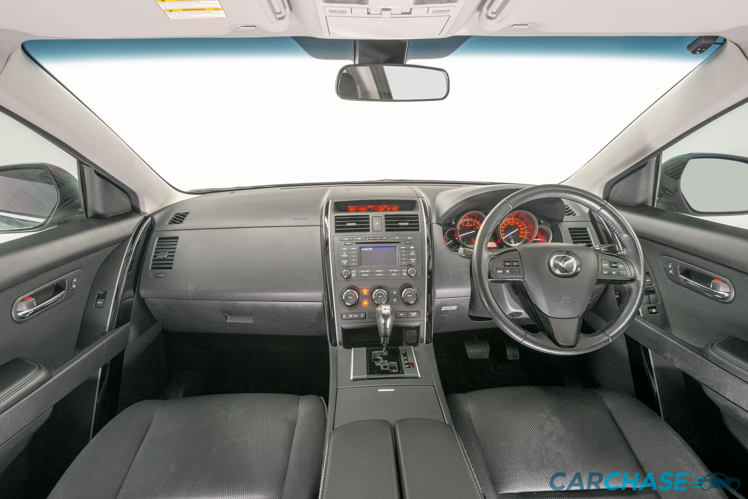 Image of dashboard profile of 2012 Mazda CX-9 Classic TB4