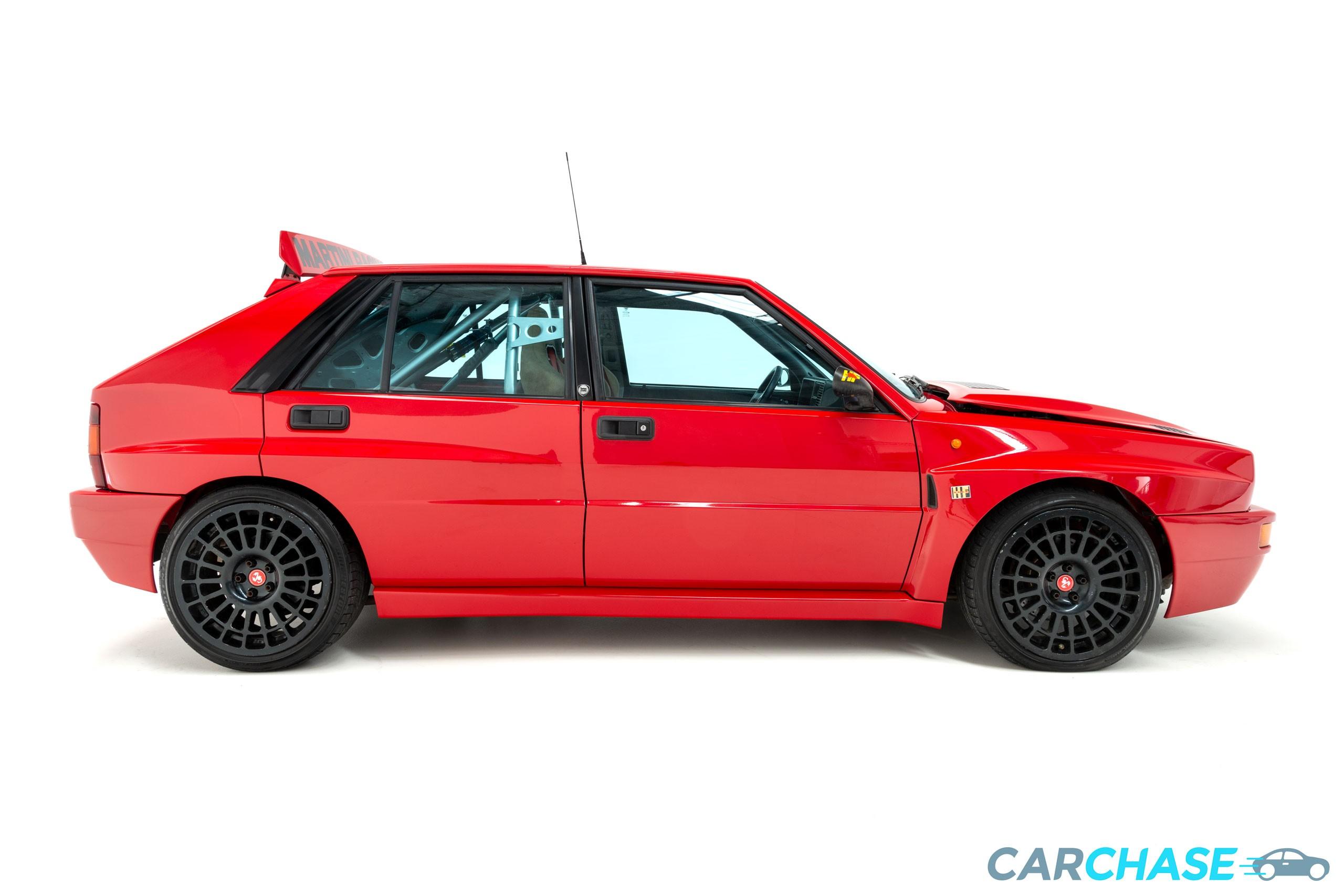 Image of right profile of 1993 Lancia Delta Integrale Evo 2