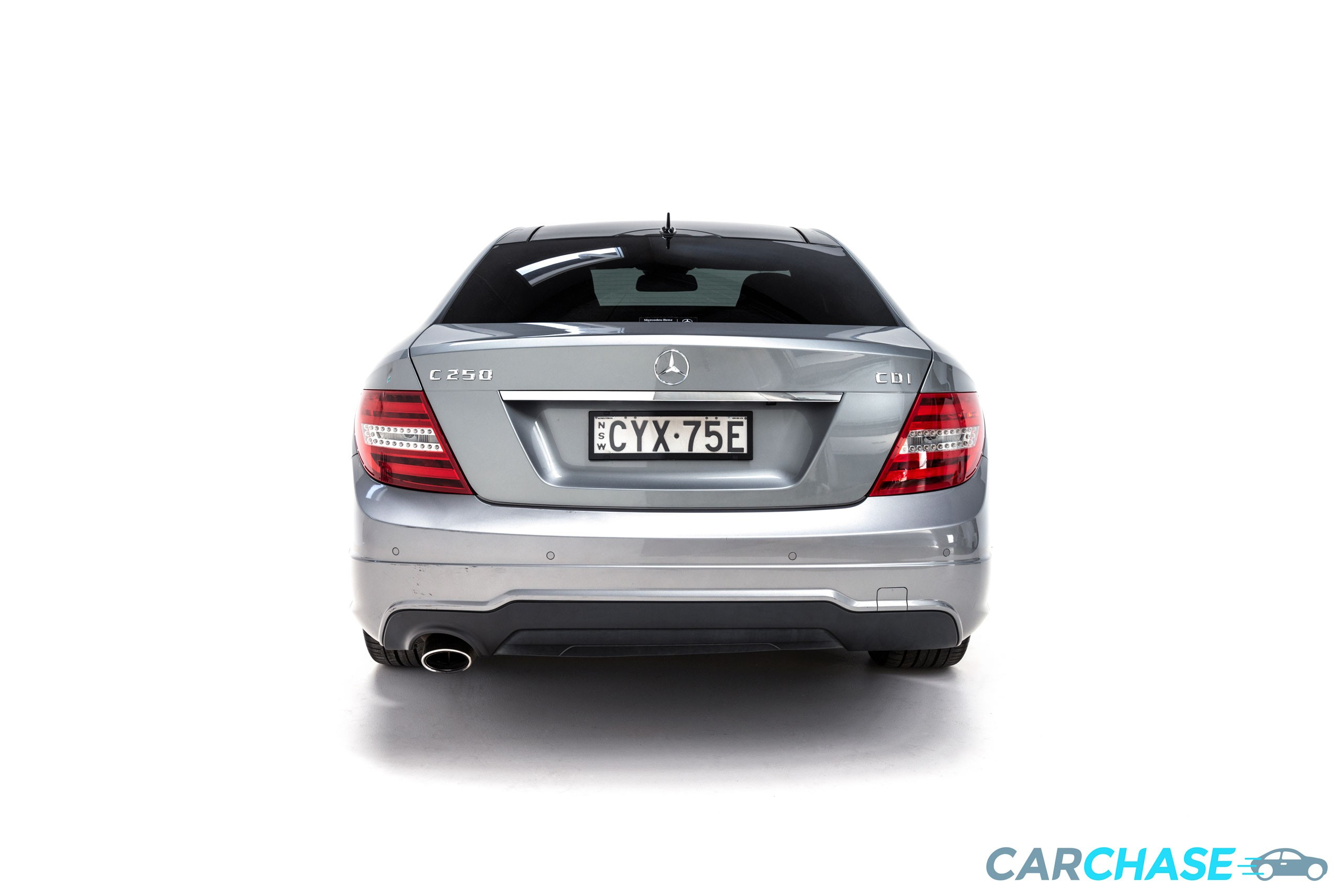 Image of rear profile of 2015 Mercedes-Benz C250 CDi Avantgarde