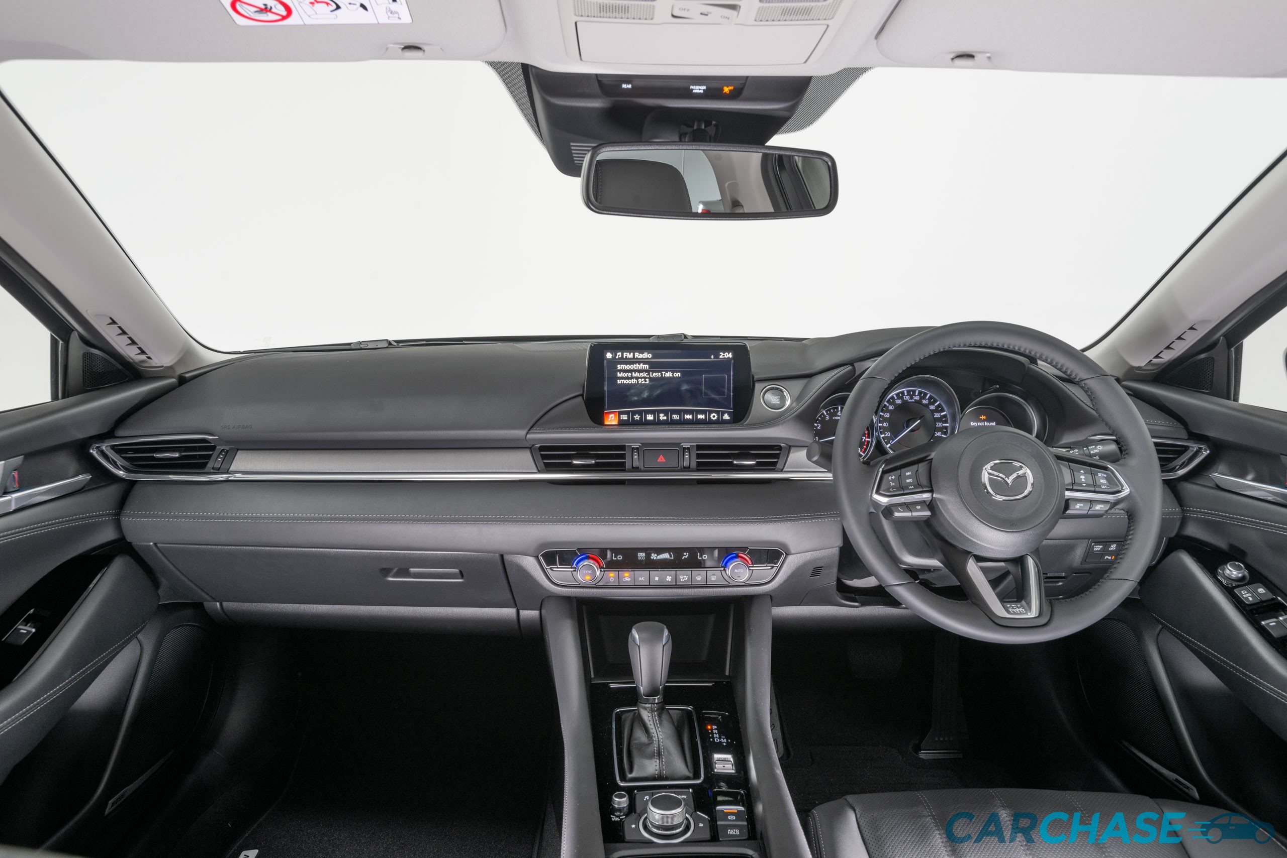 Image of dashboard profile of 2019 Mazda 6 Touring