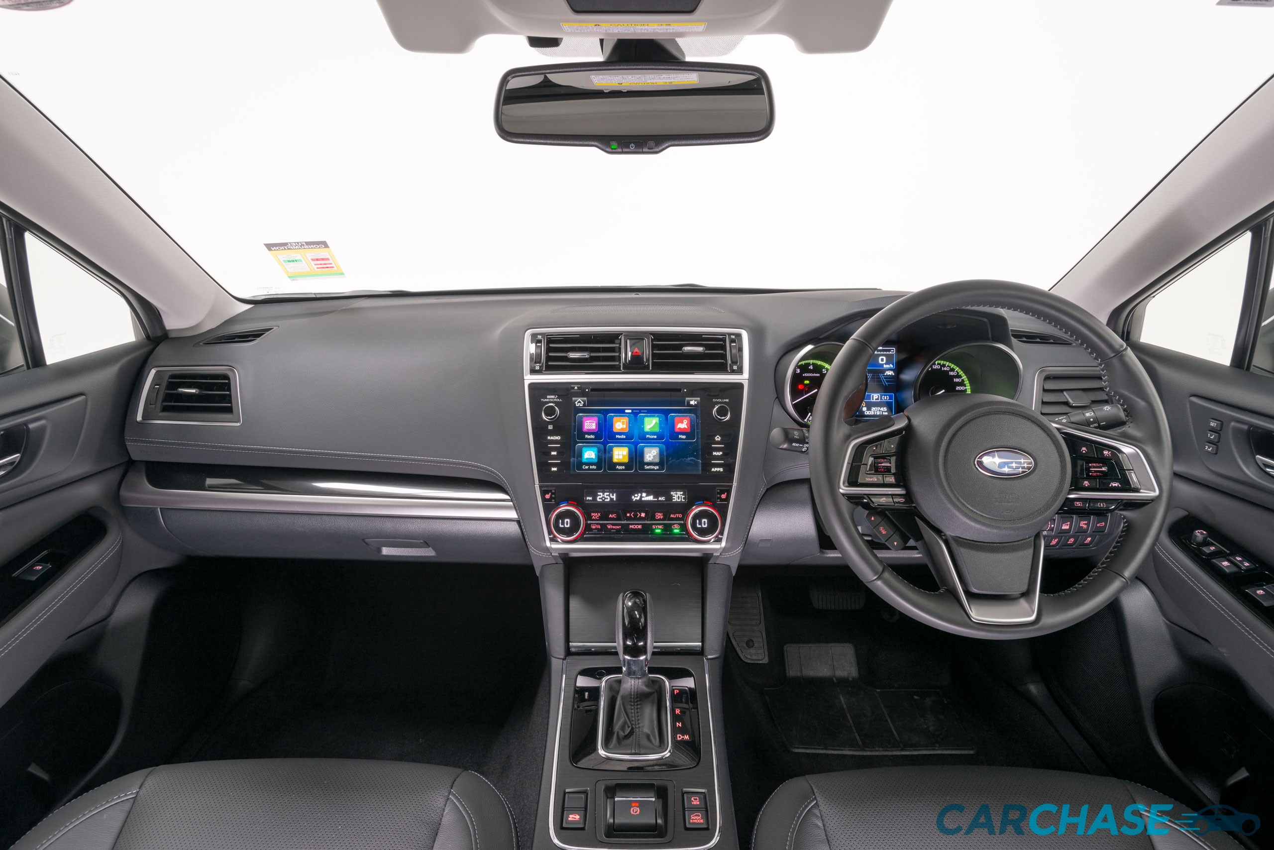 Image of dashboard profile of 2018 Subaru Outback 2.5i Premium