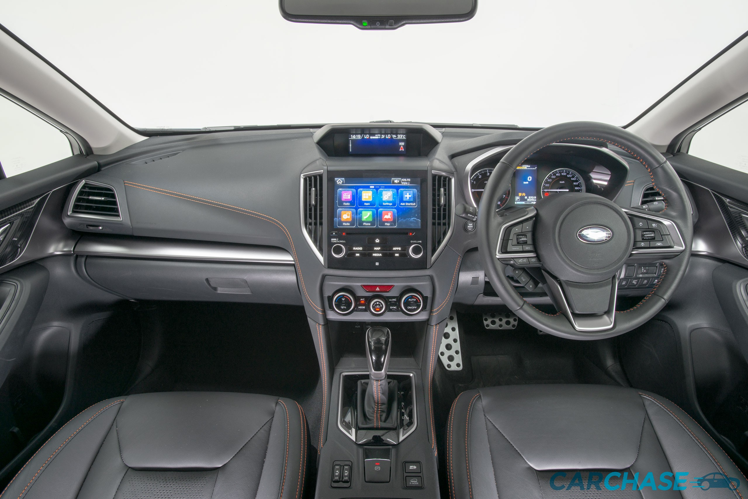 Image of dashboard profile of 2018 Subaru XV 2.0i-S
