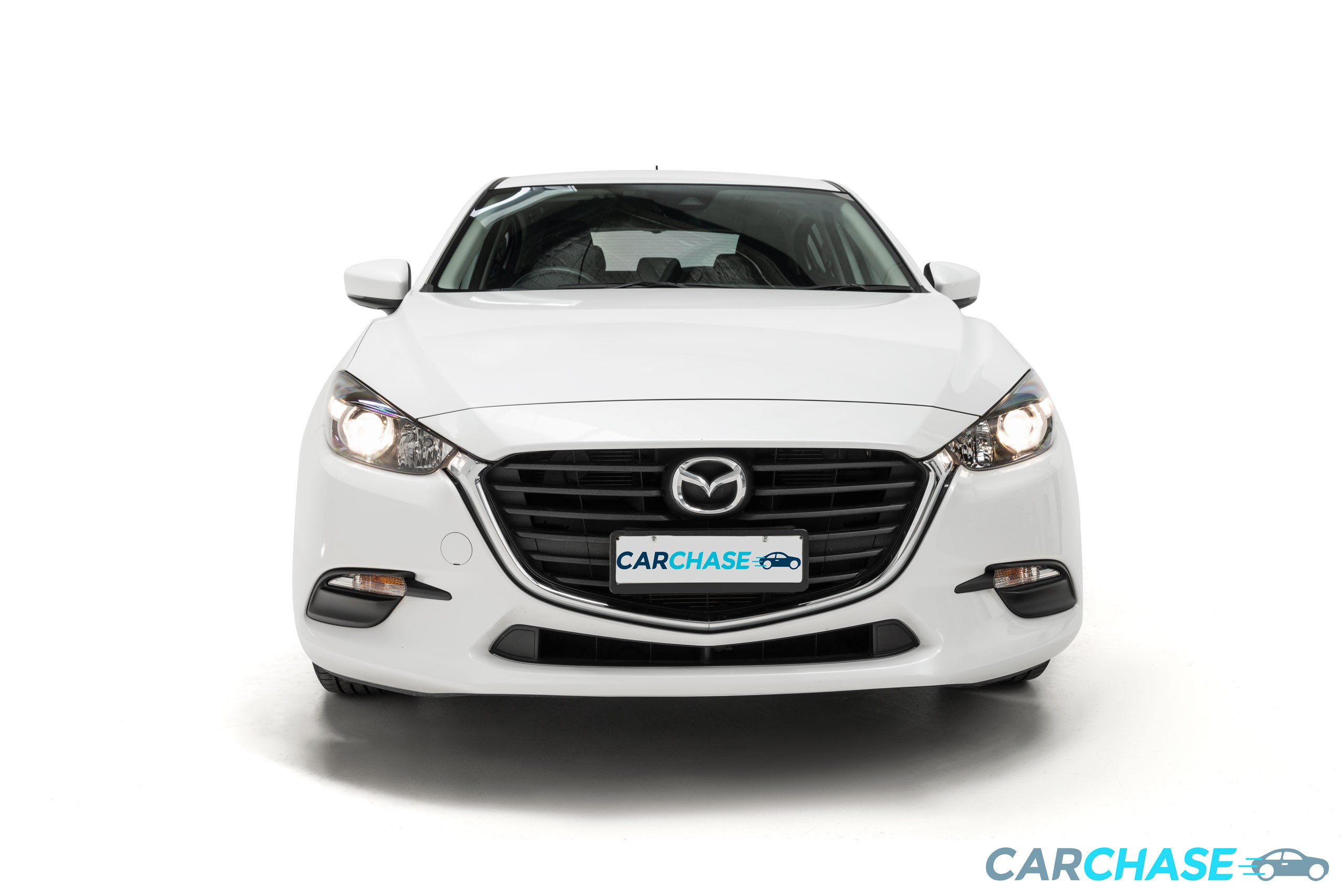 Image of front profile of 2016 Mazda 3 Neo BN Series