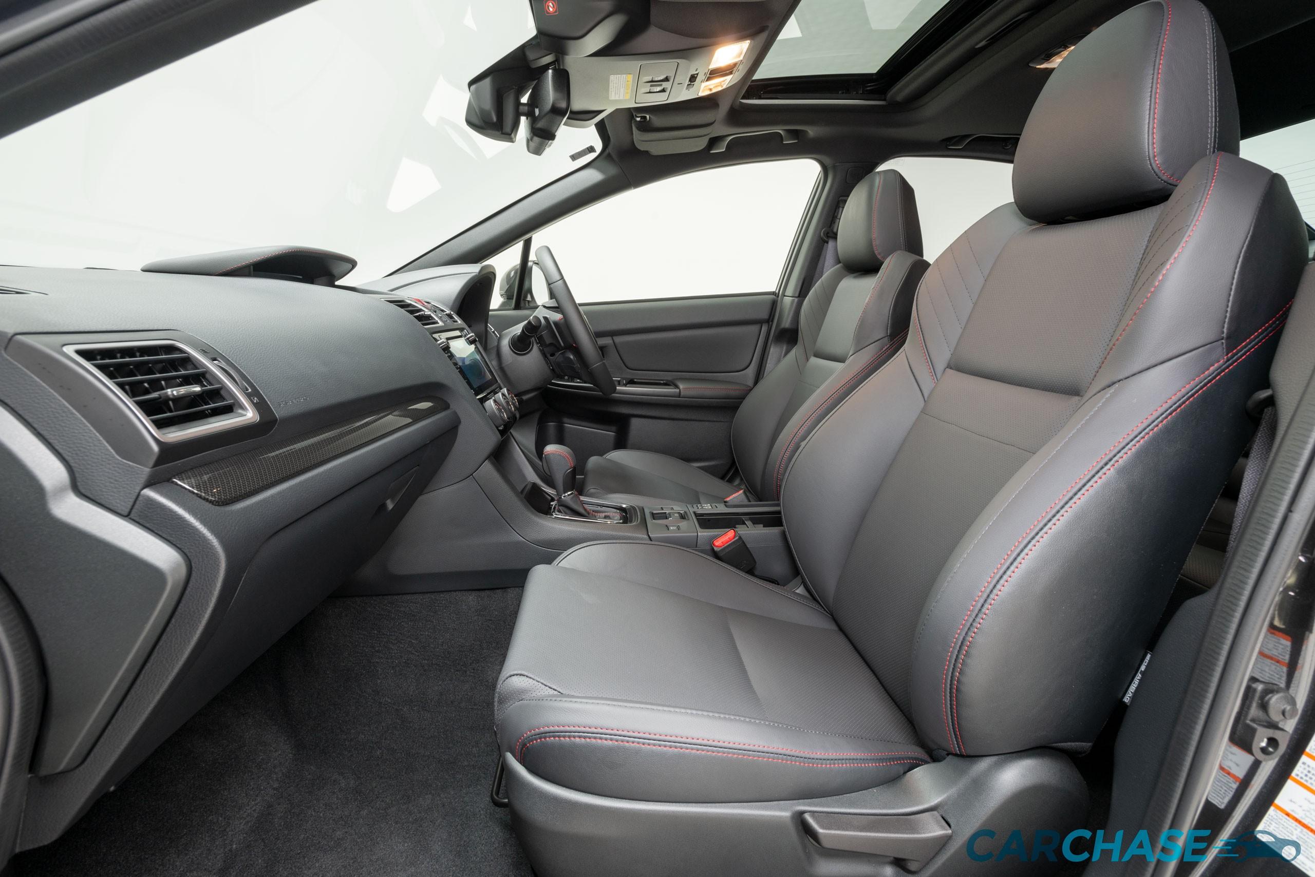 Image of passenger front profile of 2018 Subaru WRX Premium