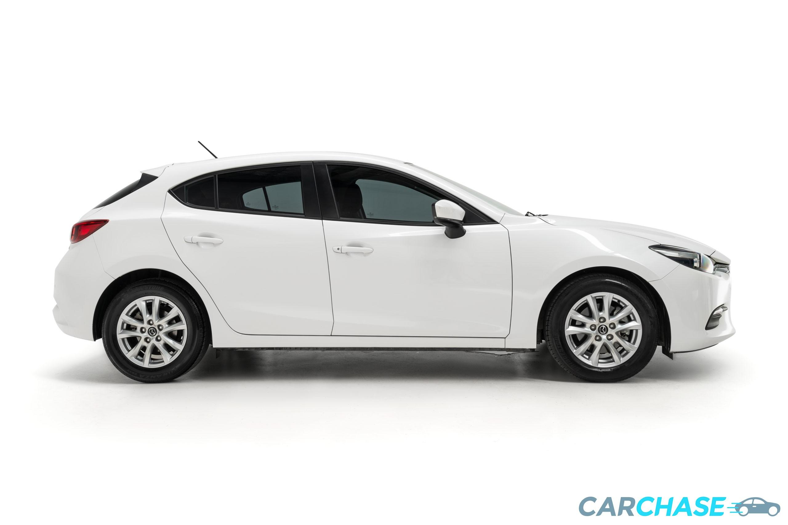 Image of right profile of 2016 Mazda 3 Neo BN Series