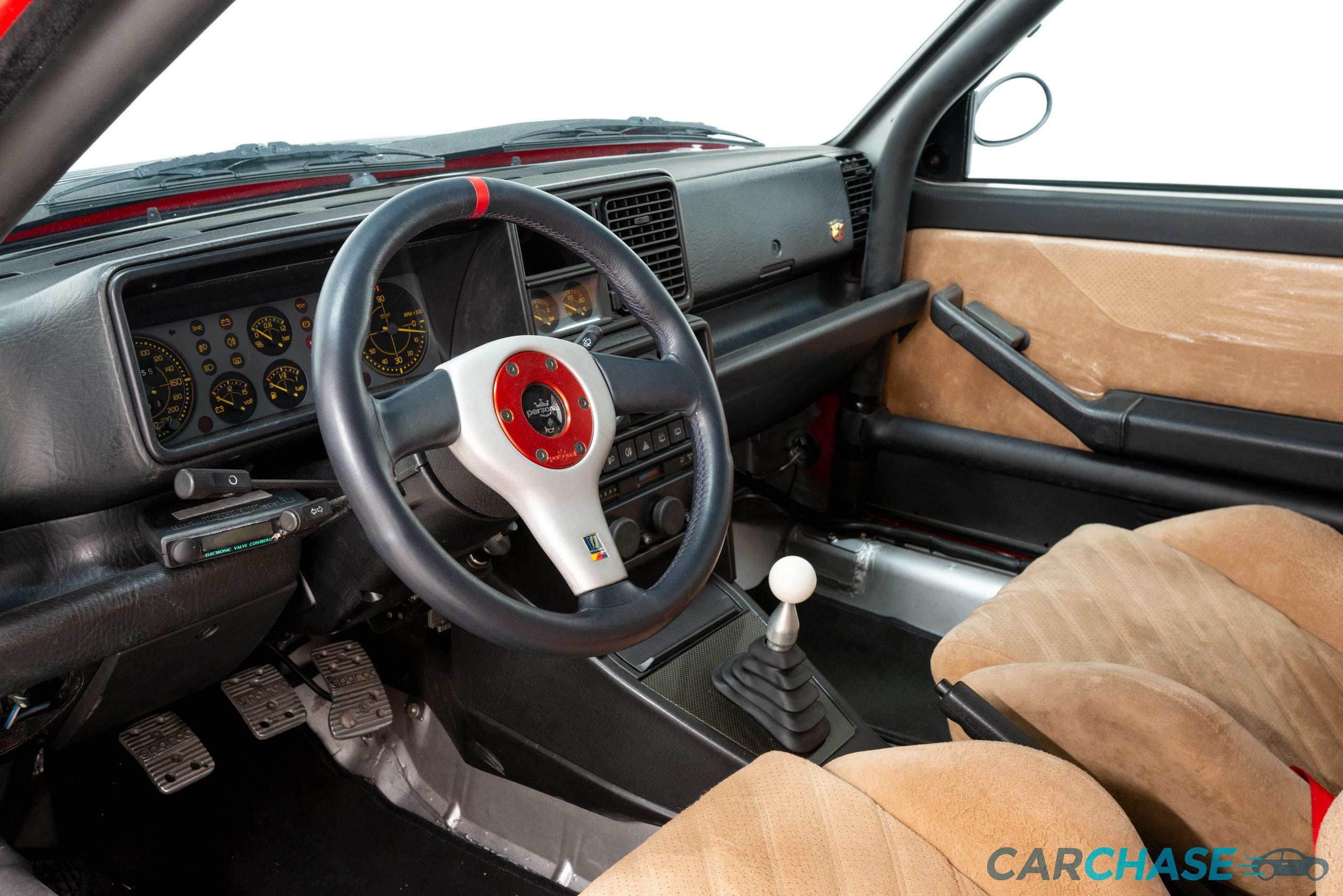 Image of dashboard profile of 1993 Lancia Delta Integrale Evo 2