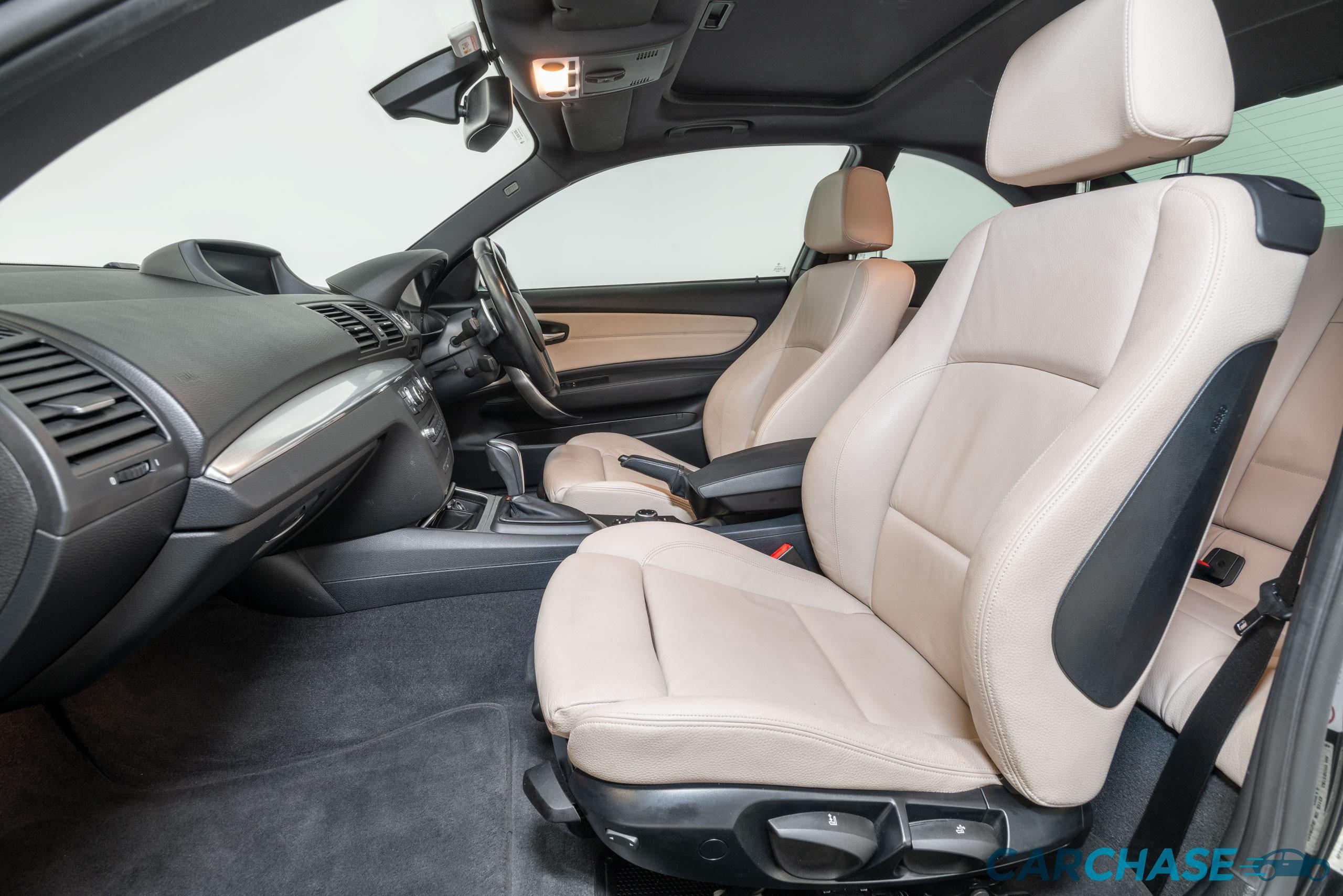 Image of passenger front profile of 2011 BMW 125i