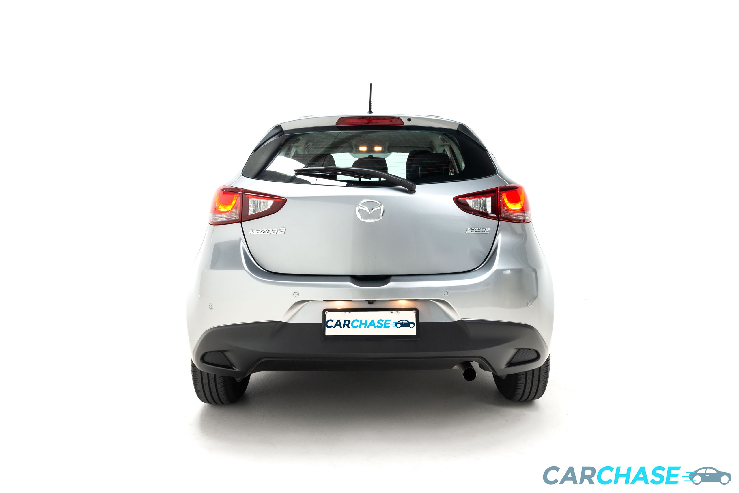 Image of back profile of 2016 Mazda 2 Maxx DJ