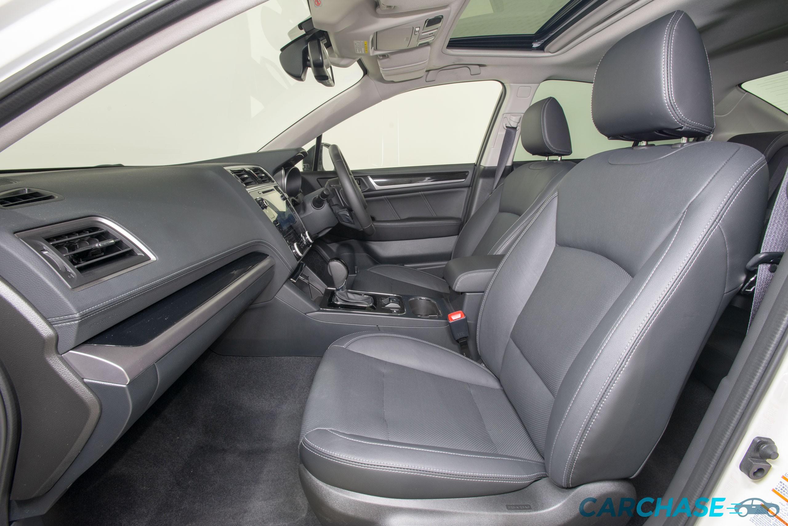 Image of passenger front profile of 2018 Subaru Liberty 2.5i Premium