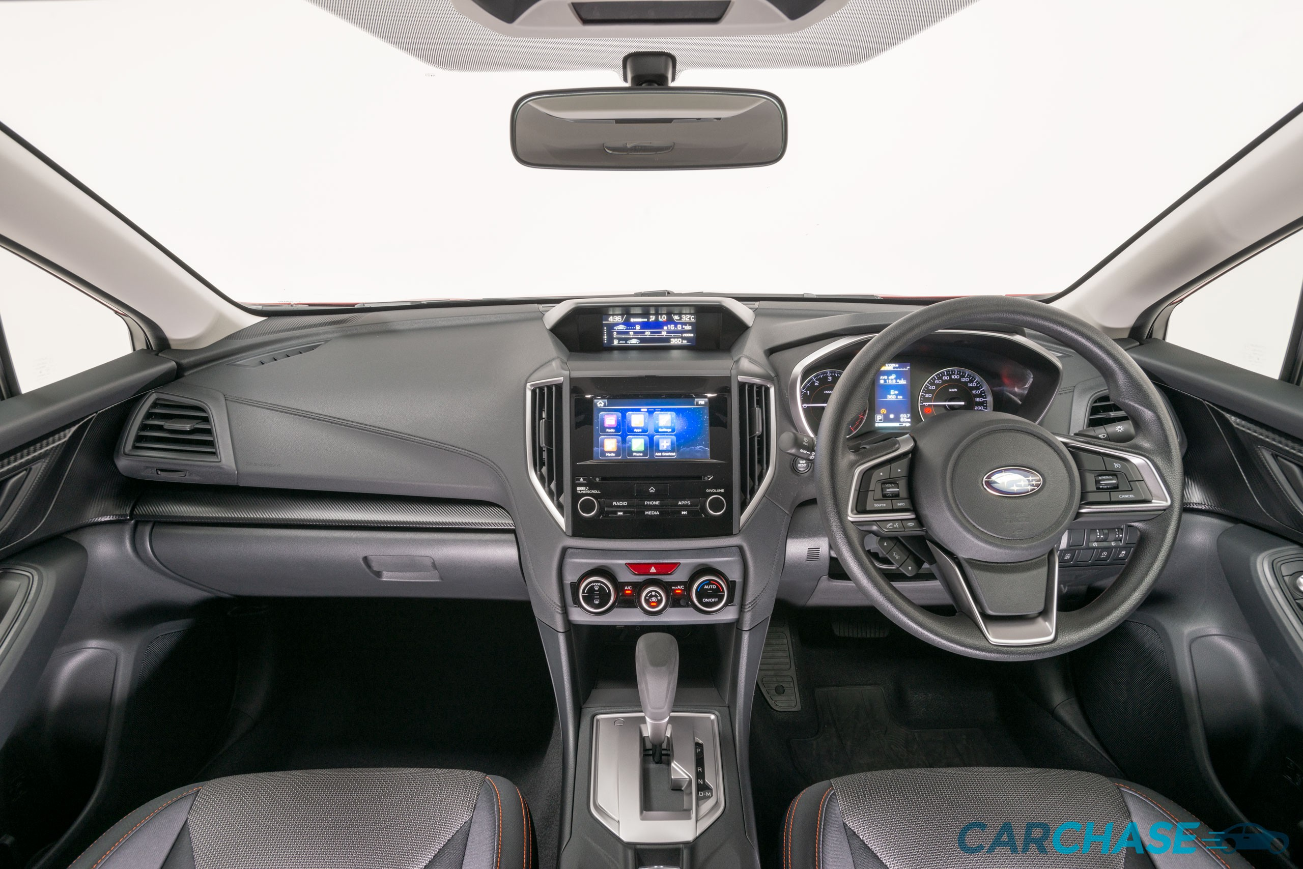 Image of dashboard profile of 2018 Subaru XV 2.0i