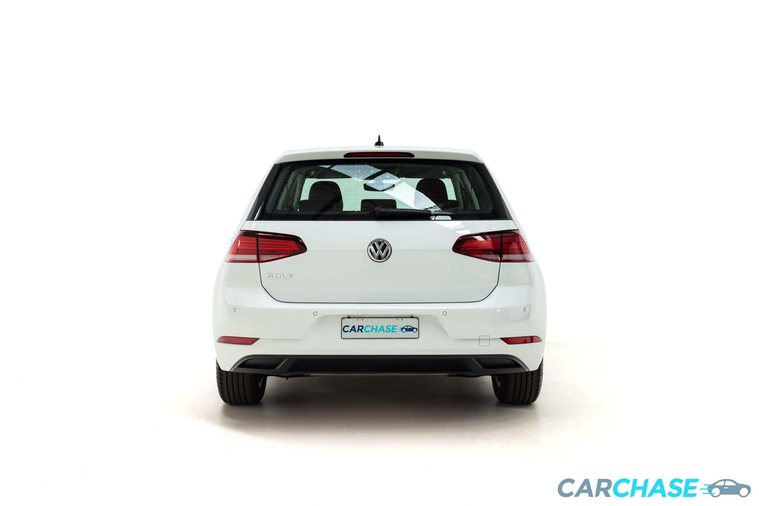 Image of rear profile of 2018 Volkswagen Golf 110TSI Trendline