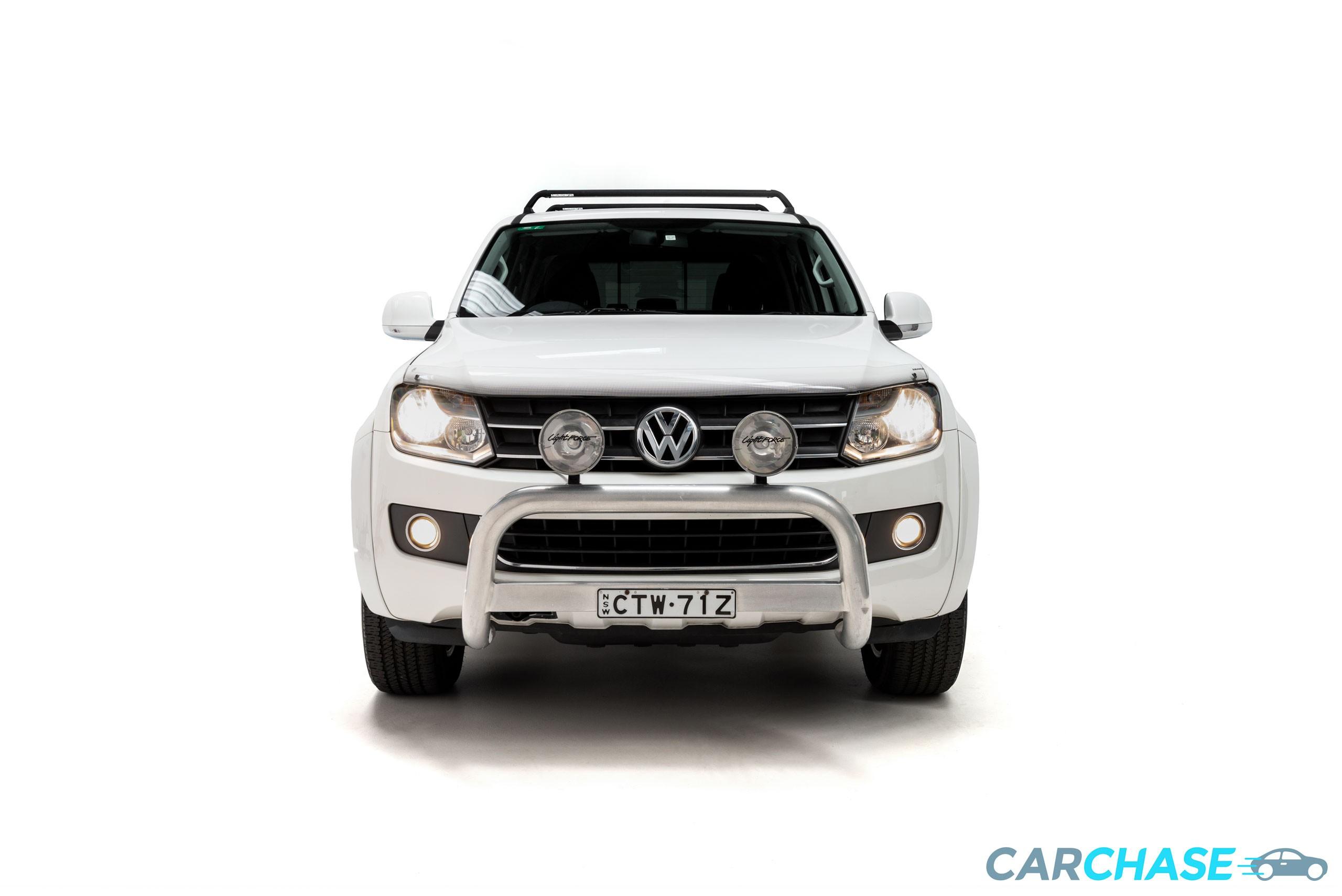 Image of front profile of 2012 Volkswagen Amarok TDI400 Highline