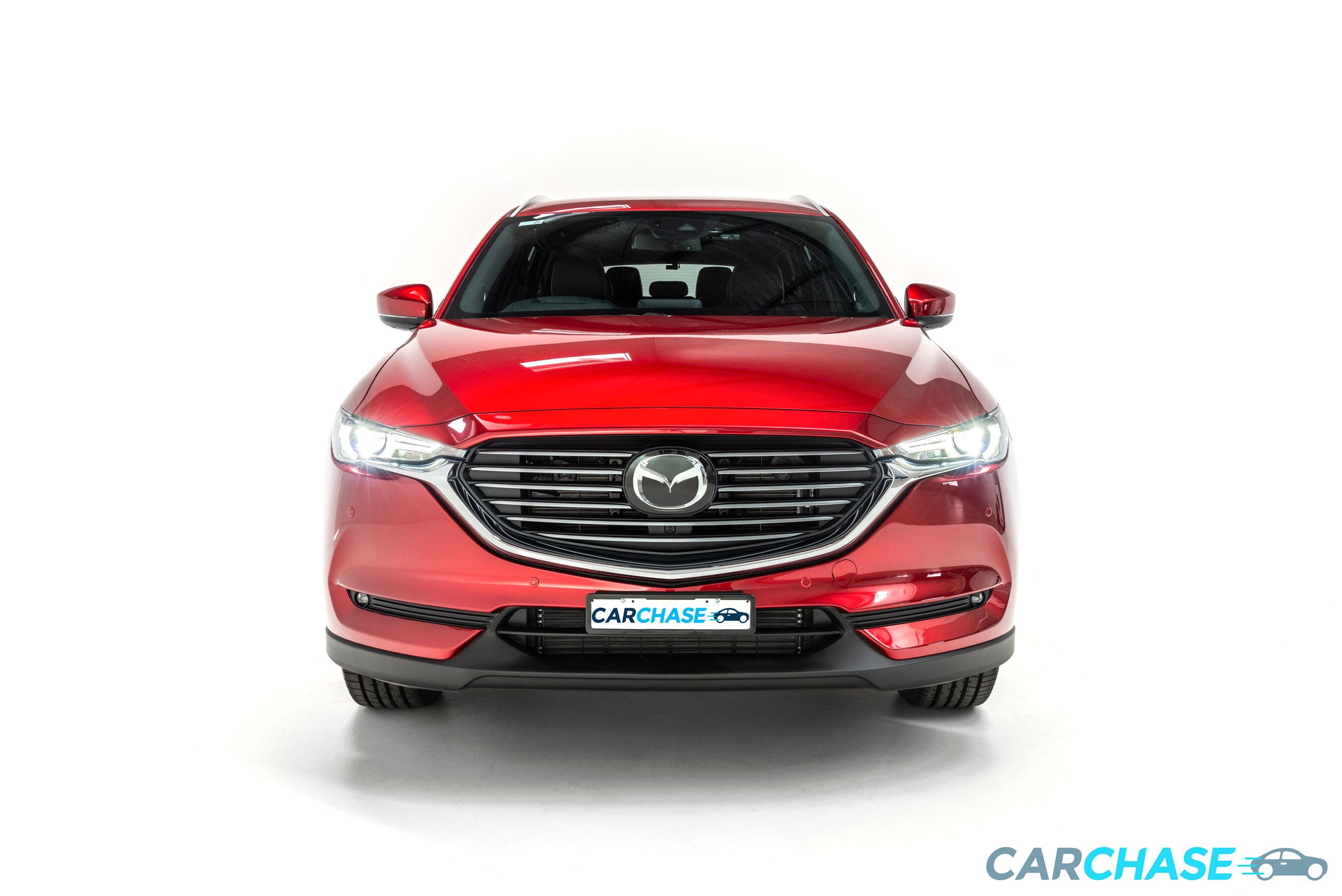Image of front profile of 2018 Mazda CX-8 Asaki